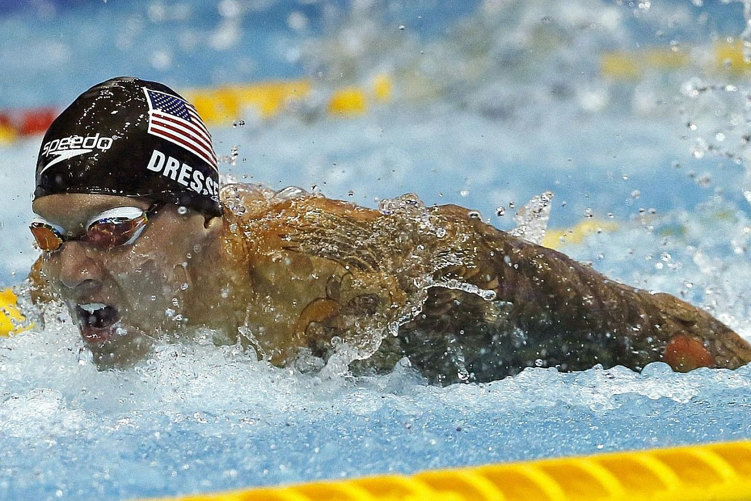 Caeleb Dressel is the swimmer to watch at the Tokyo Olympics after winning six golds at this year's world championships. PHOTO: ASSOCIATED PRESS