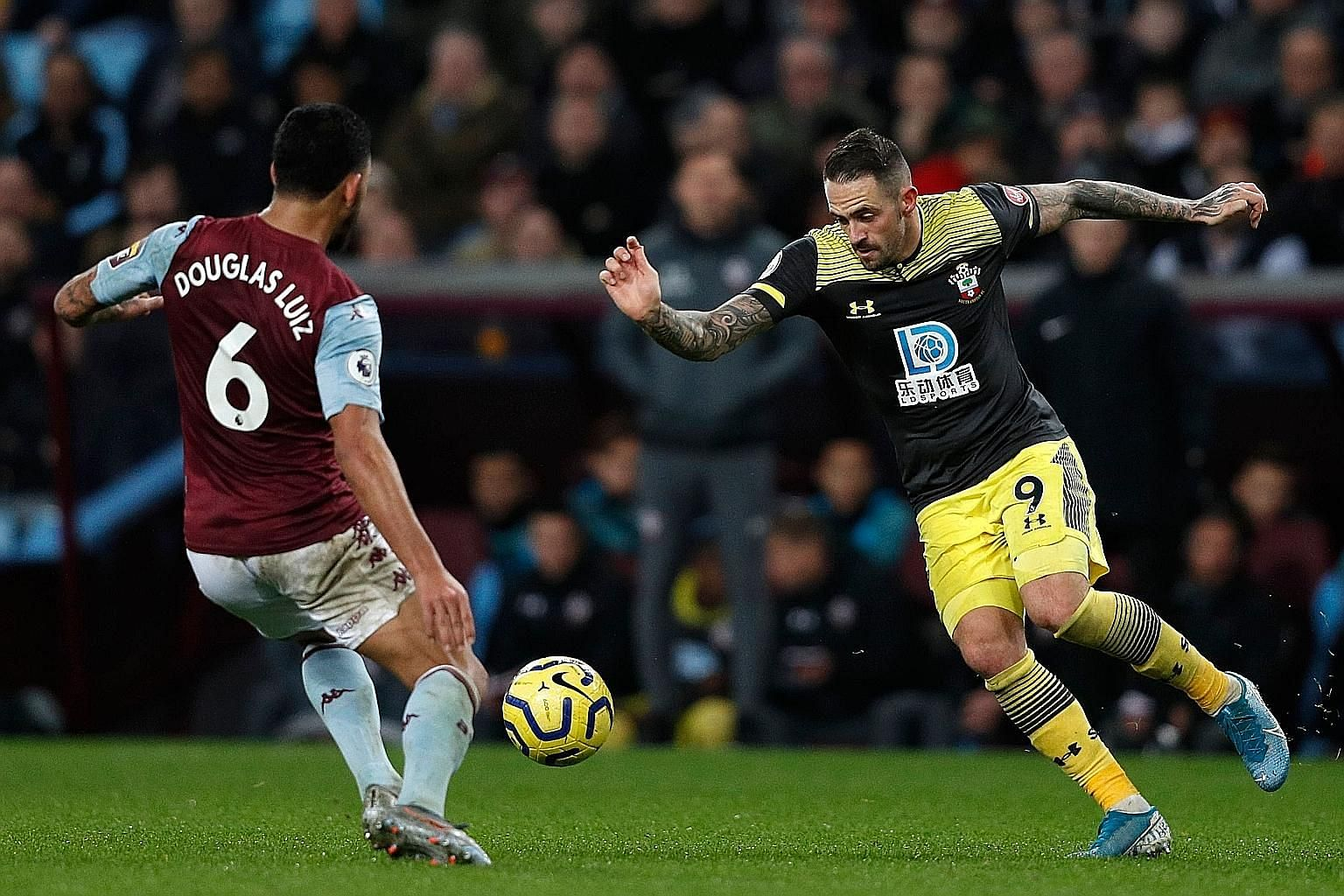 Southampton's Danny Ings is the joint-second top scorer in the Premier League with 11 goals. PHOTO: AGENCE FRANCE-PRESSE