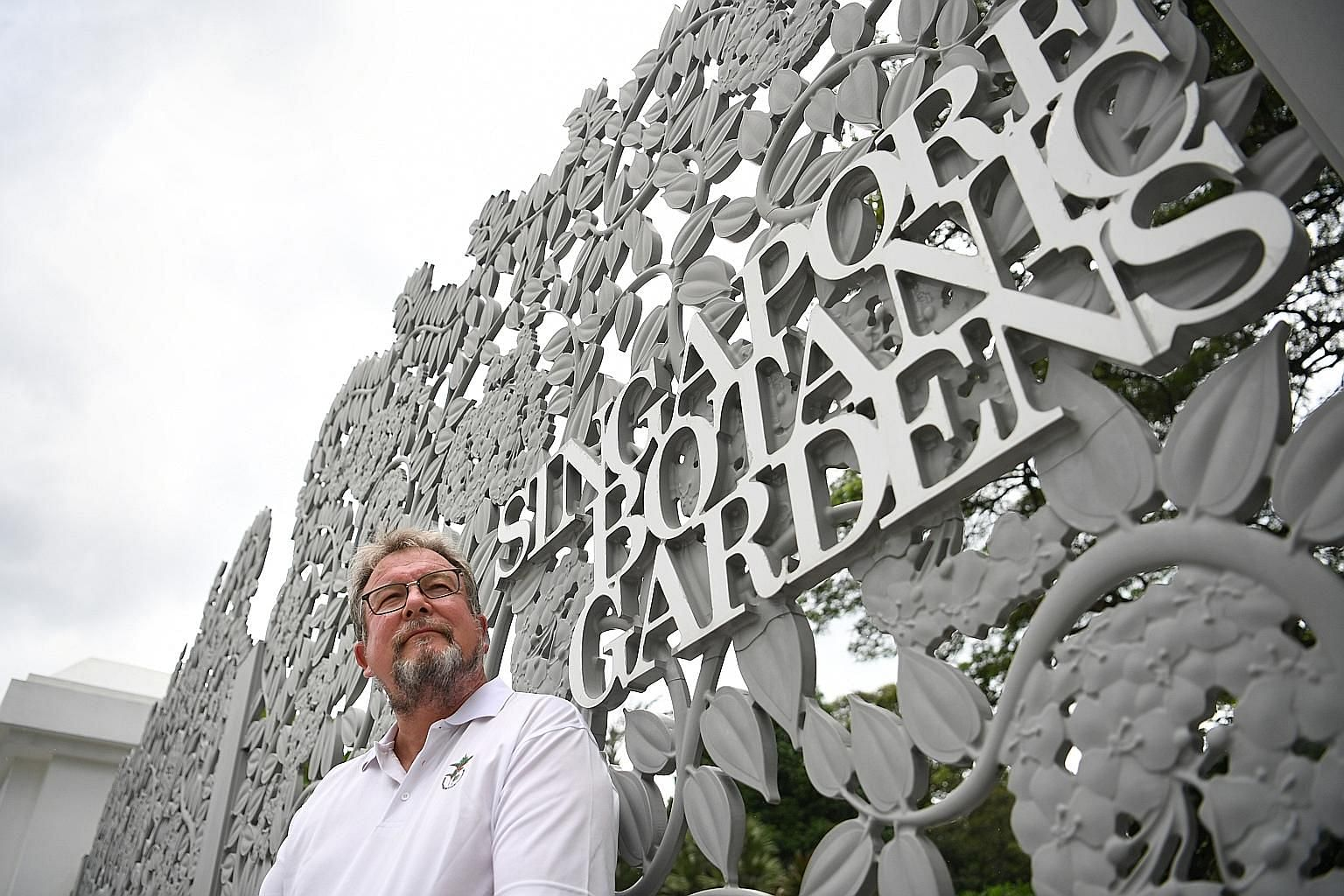 """Under Dr Nigel Taylor's watch, the Singapore Botanic Gardens became the first and only tropical botanic garden to make the Unesco World Heritage List. He admits to leaving reluctantly, and is hard-pressed to pick a favourite spot in the gardens as """"every"""