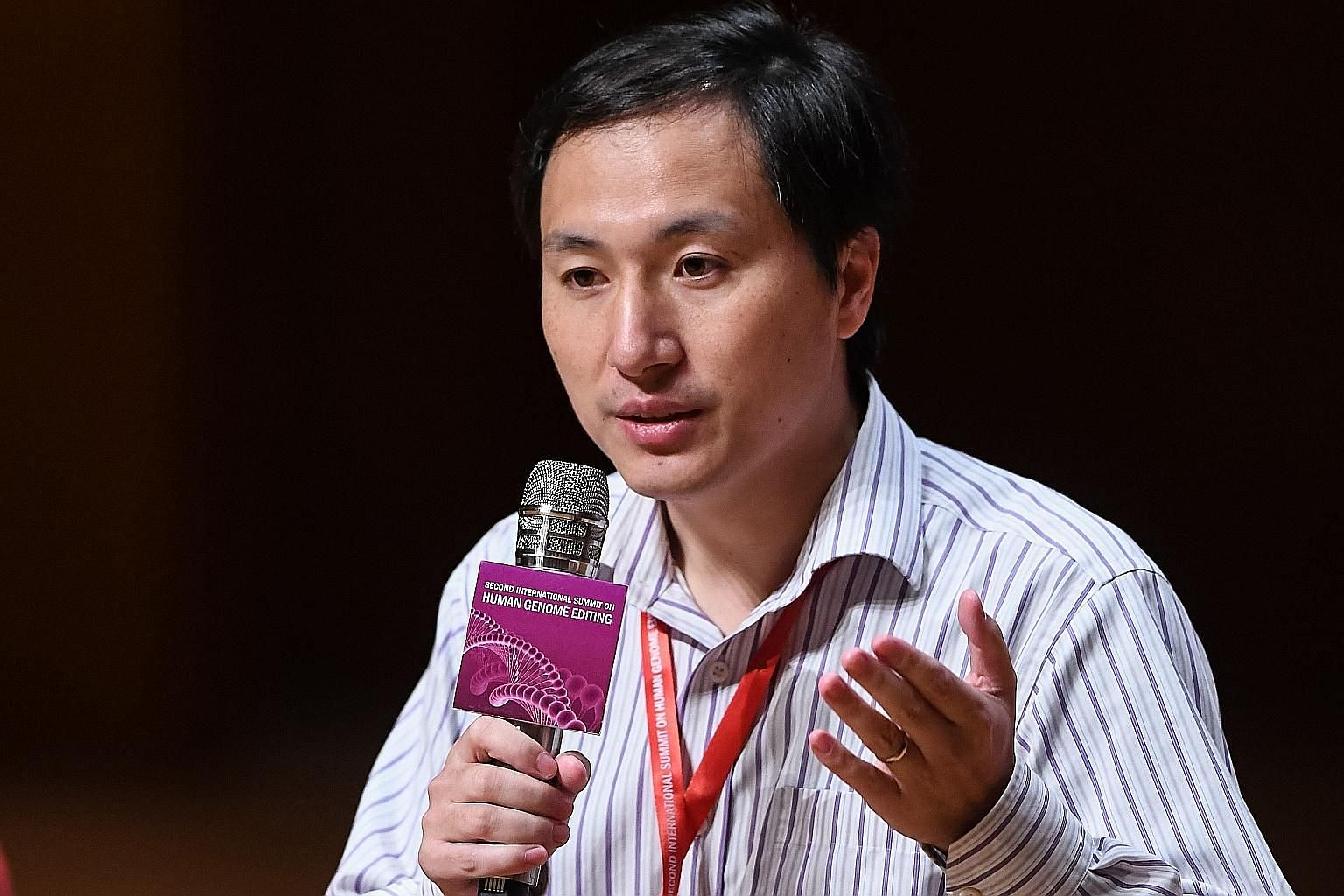 In a claim last year which shocked scientists, He Jiankui announced that the world's first gene-edited babies - twin girls - had been born after he altered their DNA to prevent them from contracting HIV.