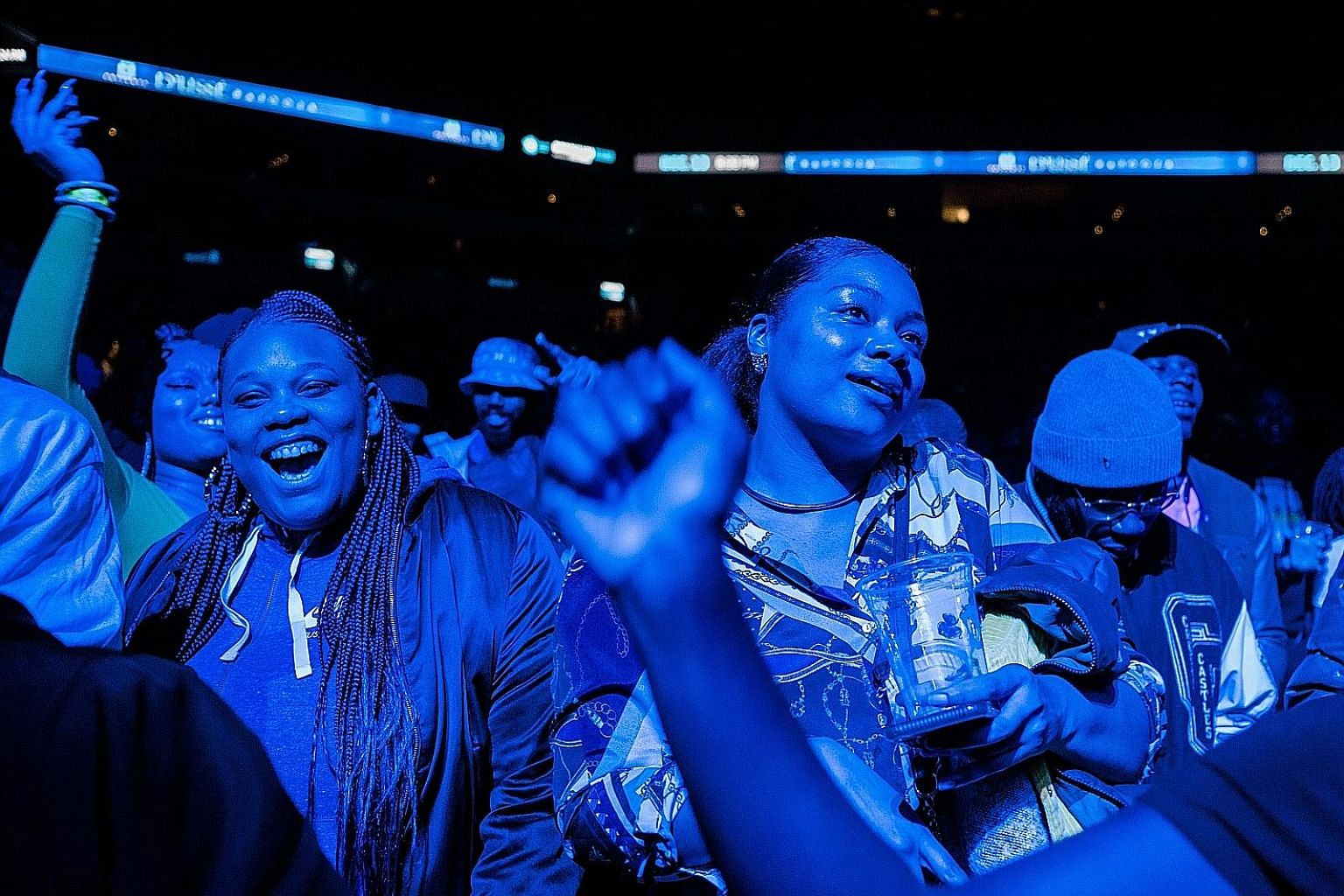 The D'usse Palooza hip-hop event has grown from an East Harlem house party attended by barely 50 people to an event that drew 9,000 to Barclays Centre (left) in New York last month, while expanding to more than a dozen US cities.