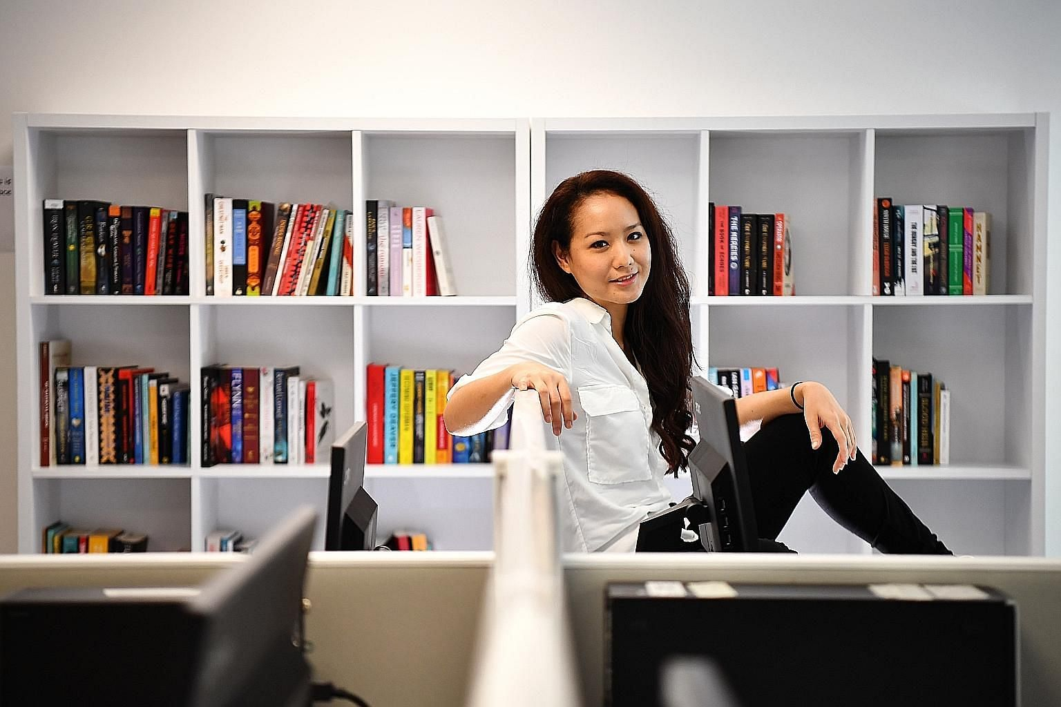 "Amanda Ling (in a photo taken at News Centre) is one examination away from becoming a certified KonMari consultant, but says she is ""in no hurry""."