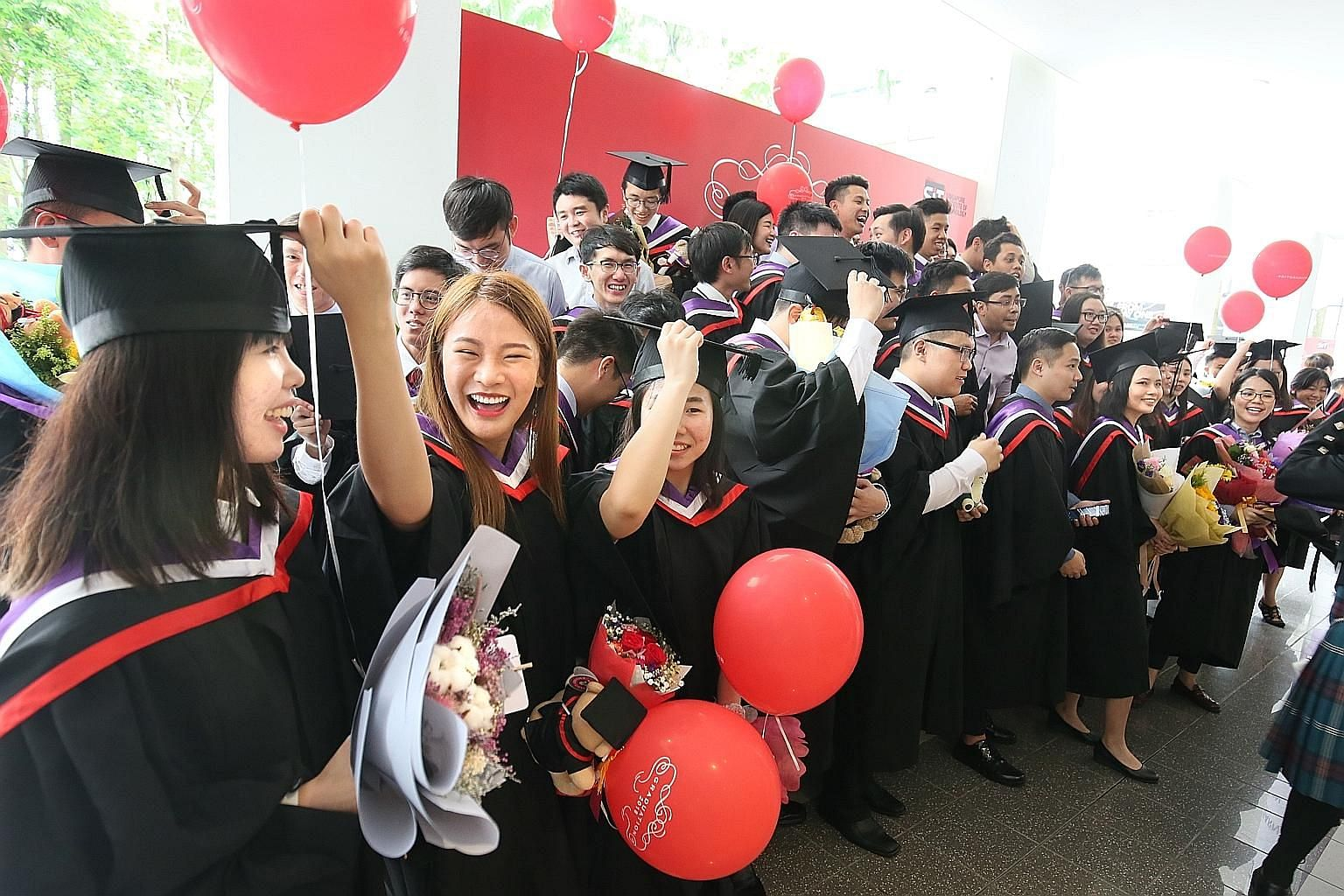 OECD education and skills chief Andreas Schleicher says the degree aspirations of young Singaporeans are understandable, as research around the world has shown that those with university degrees command a premium in the marketplace.