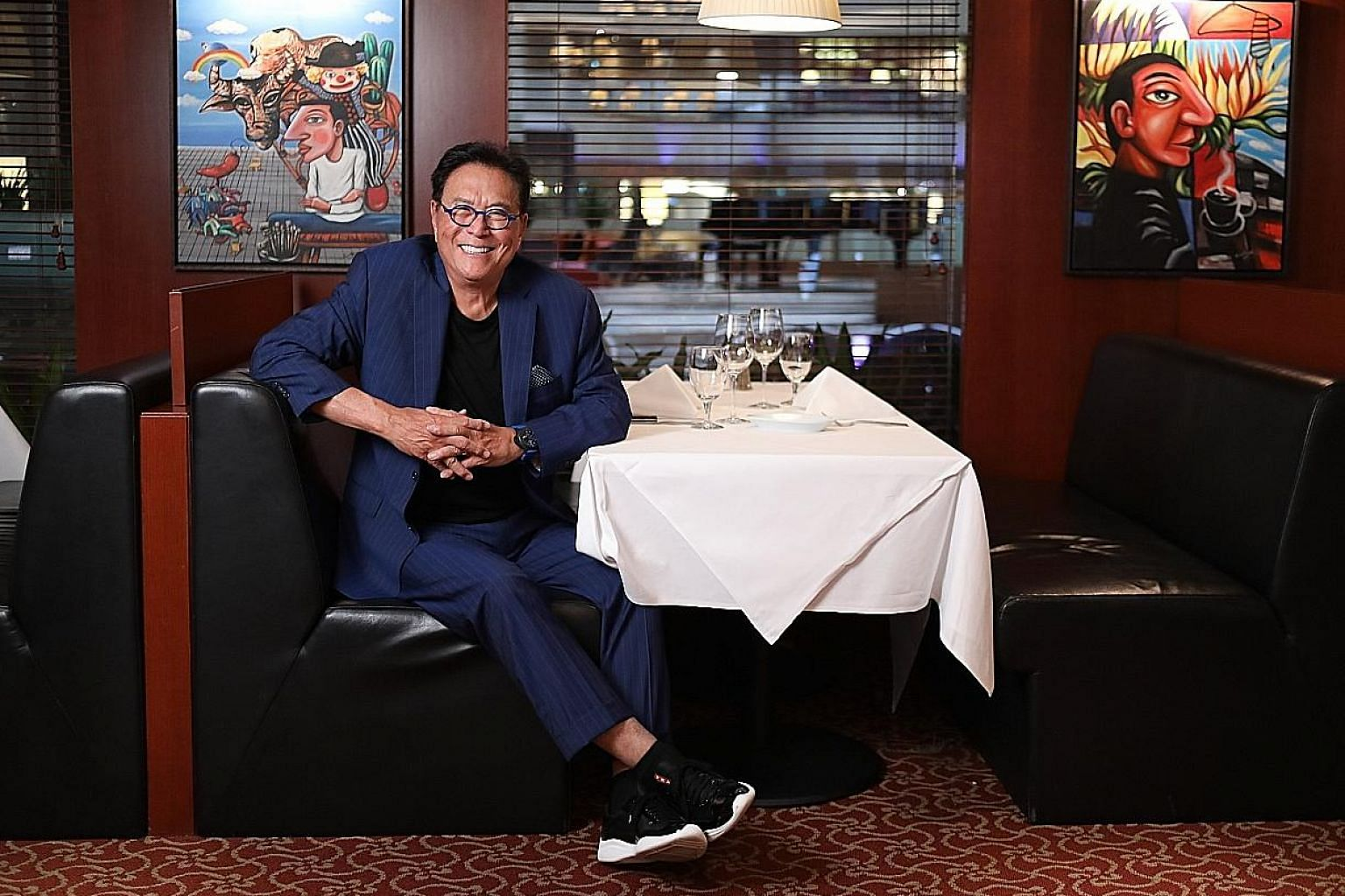 Mr Robert Kiyosaki says there is no magic formula in making money. His book Rich Dad Poor Dad, published in 1997, has sold more than 32 million copies since and spawned a business which includes seminars. Besides the Rich Dad business, he and his wif