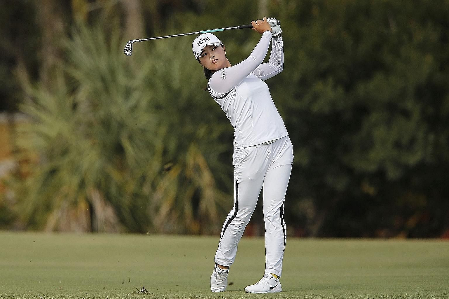 Ko Jin-young is set on adding the HSBC Women's Championship in Singapore to her resume of victories.