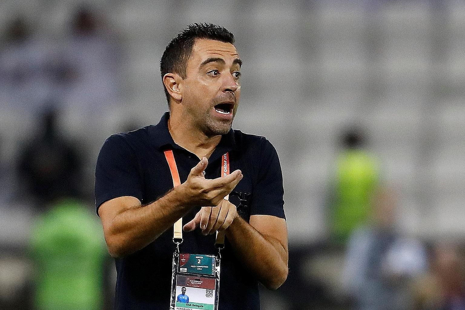 Xavi Hernandez, 39, is seven months into his first managerial role at Qatari side Al Sadd.