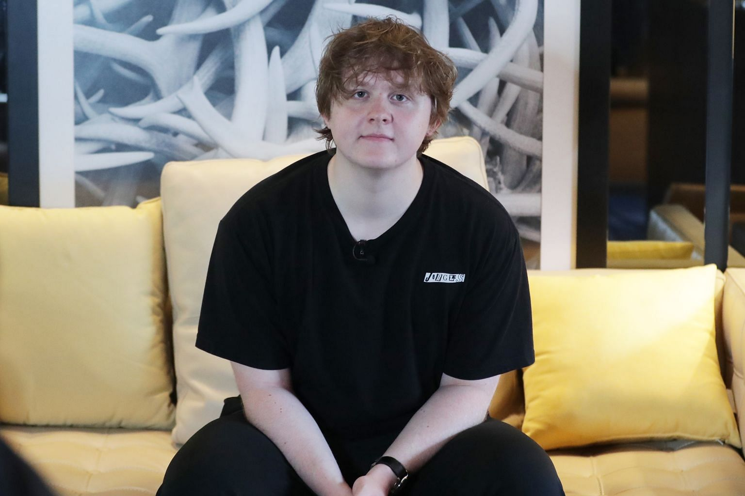 Crowned Britain's top-selling artist last year, Lewis Capaldi played his first concert in Singapore last Saturday.