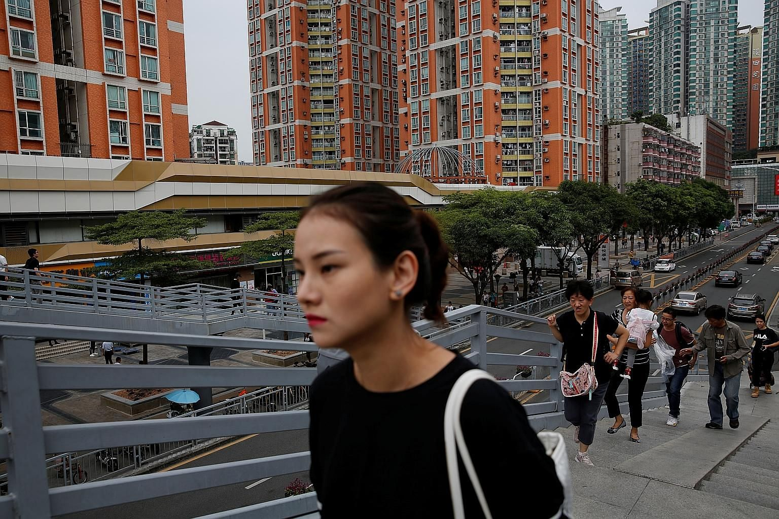 New residential flats in Shenzhen, near the Hong Kong-Shenzhen border. December's 6.6 per cent price growth was the slowest pace since July 2018, and significantly weaker than the 9.7 per cent gain seen in December 2018.
