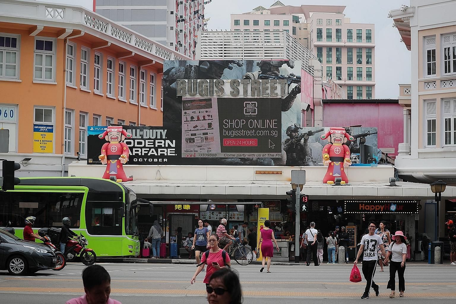 Among the tentative proposals are plans to create open spaces which could serve as retail incubators for established brands and local start-ups. CapitaLand said it has plans to utilise the site's existing shophouses and spiral staircases to boost the