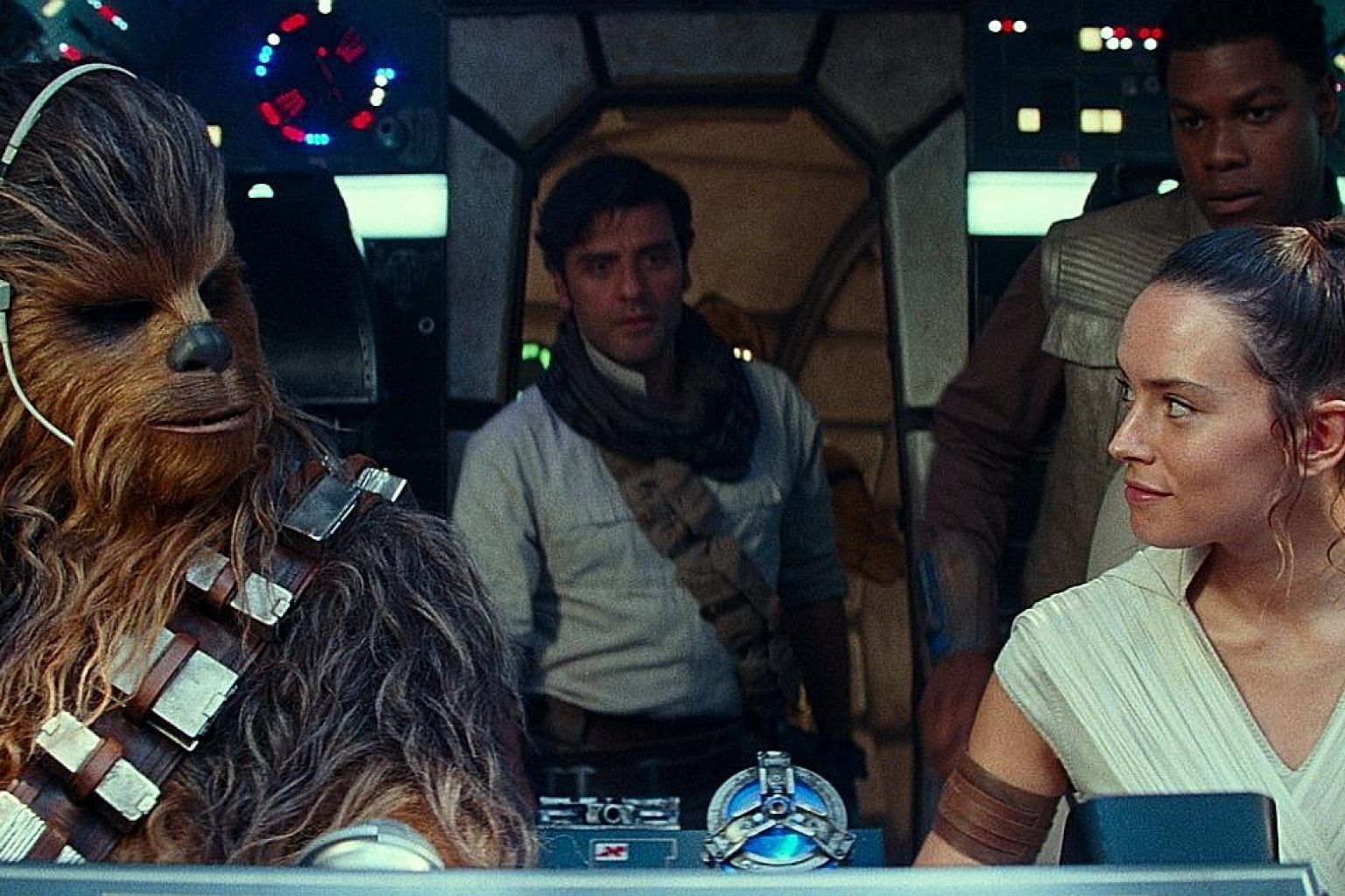 American audiences contributed to about half of the ticket sales for Star Wars: The Rise Of Skywalker (above).