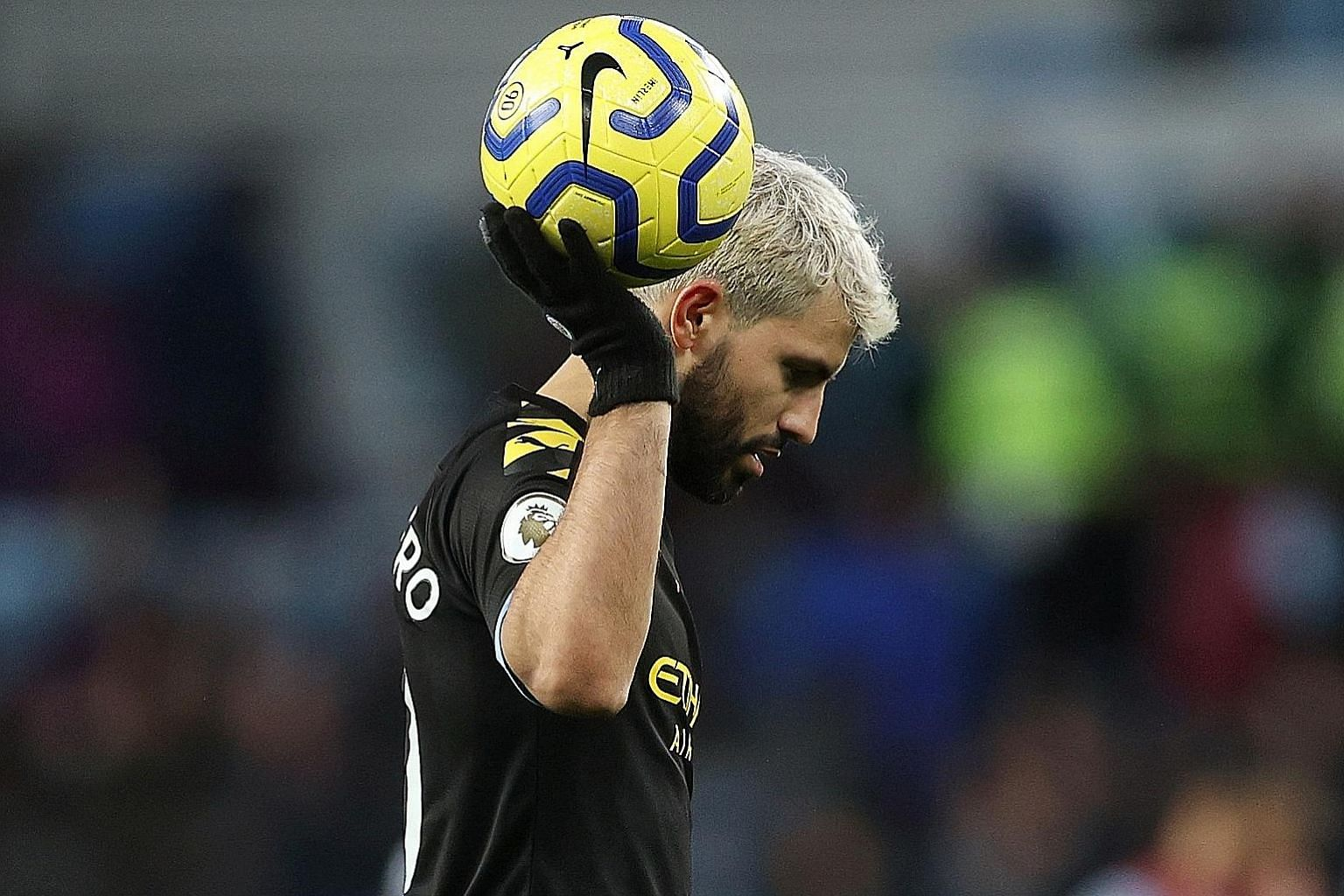 Manchester City striker Sergio Aguero will be hoping to add to his tally of 177 Premier League goals when the champions host Crystal Palace today. He is tied for fourth on the all-time scoring chart with Frank Lampard.
