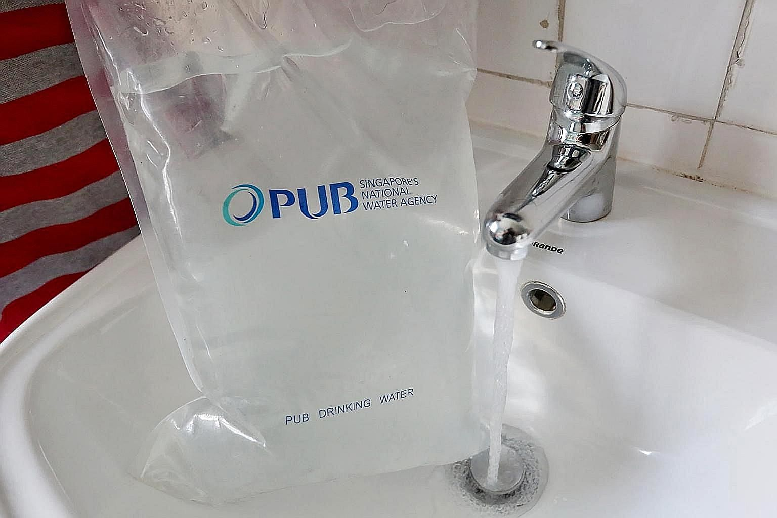 The PUB confirmed that water quality at tap points in Block 635 Ang Mo Kio Avenue 6 returned to normal after the water tanks were washed and chlorinated last Wednesday to remove traces of hydrocarbons - compounds that can be found in anti-mosquito oi
