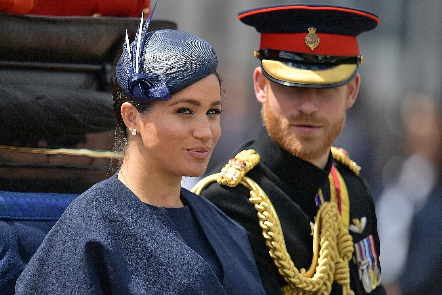 """Prince Harry and his wife Meghan will keep their titles of Duke and Duchess of Sussex but will no longer use their """"Royal Highness"""" titles. PHOTO: AGENCE FRANCE-PRESSE"""