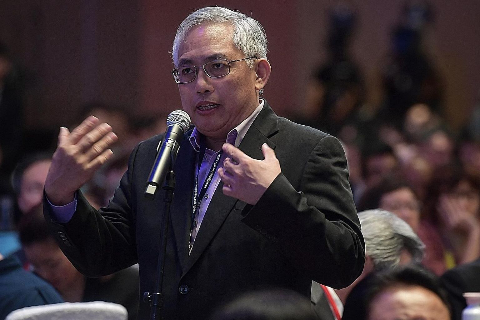 Opposition People's Power Party chief Goh Meng Seng called for the Government to provide more data for fruitful policy debates.