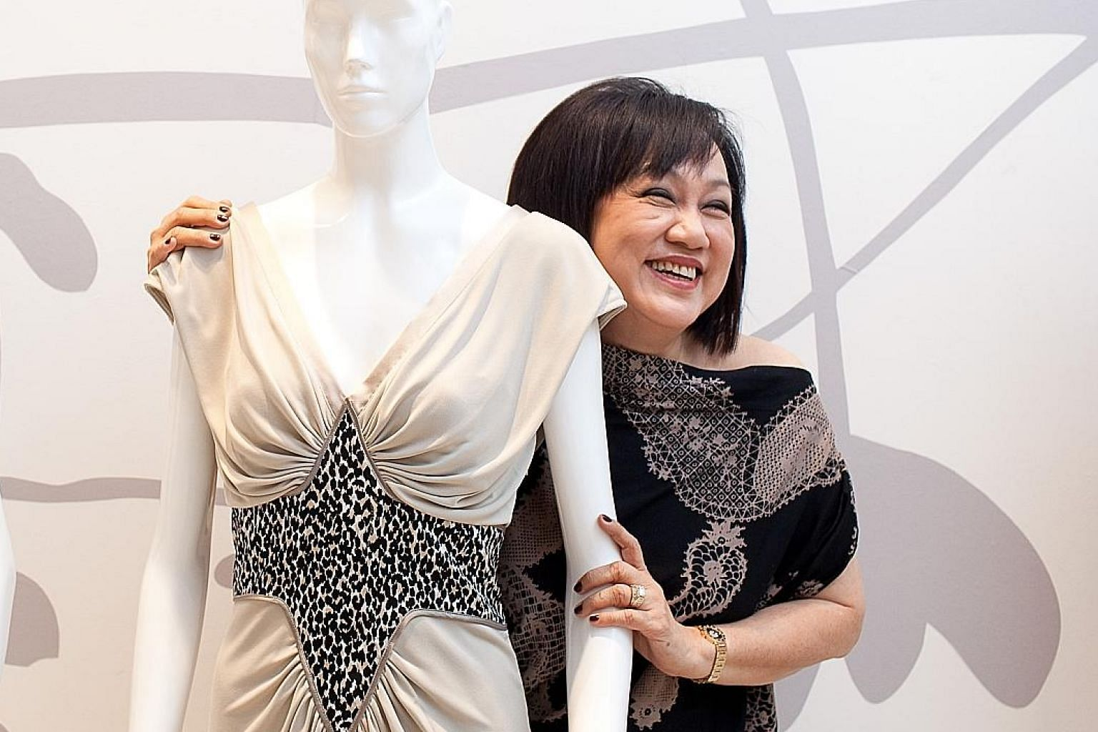 A 2010 file photo of Tyan Fashions founder Tan Beng Yan, who died yesterday. BT FILE PHOTO