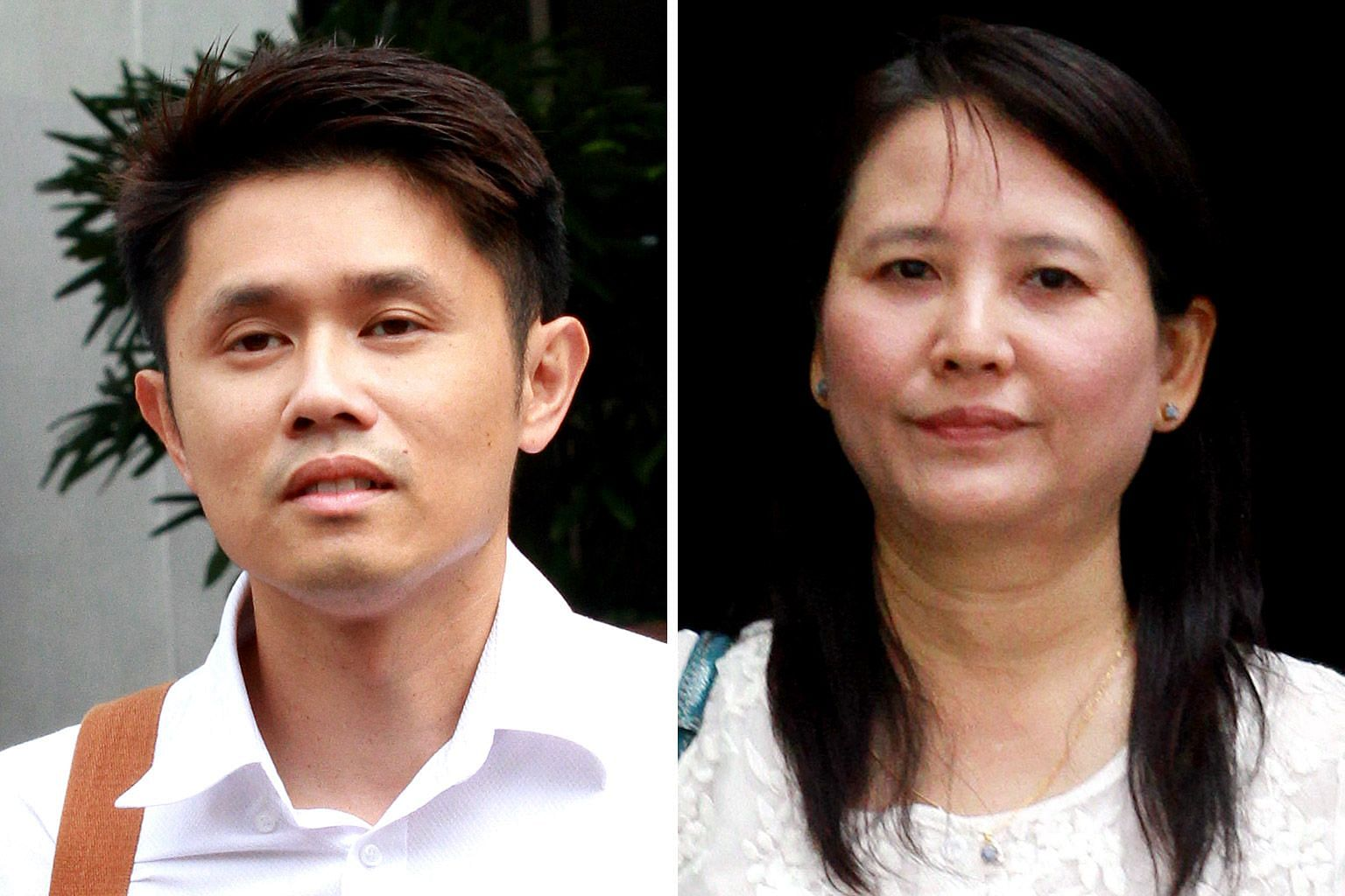 Former doctor Wong Meng Hang (above) was charged with one count of committing a rash act causing the death of Mr Franklin Heng in 2009, and Zhu Xiu Chun alias Myint Myint Kyi (below) was charged with one count of abetting Wong in his rash act.