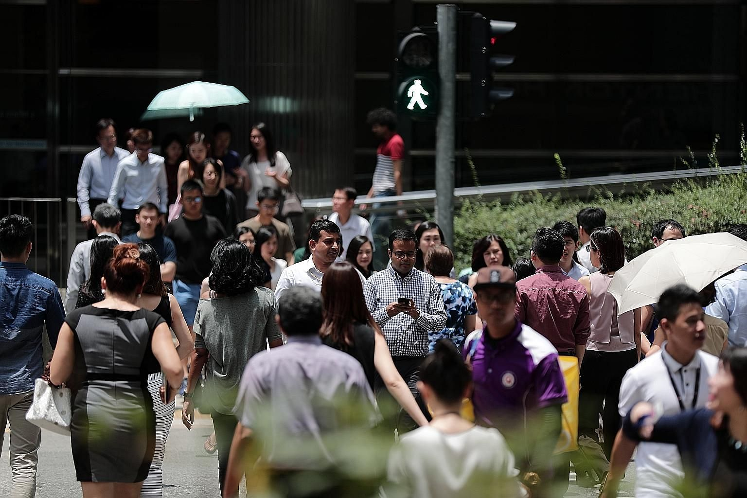 There were 2.33 million residents in the labour force as of June last year, comprising 1.97 million Singaporeans and 360,000 permanent residents. The Ministry of Manpower said in its report that as citizens consistently make up about 85 per cent of t