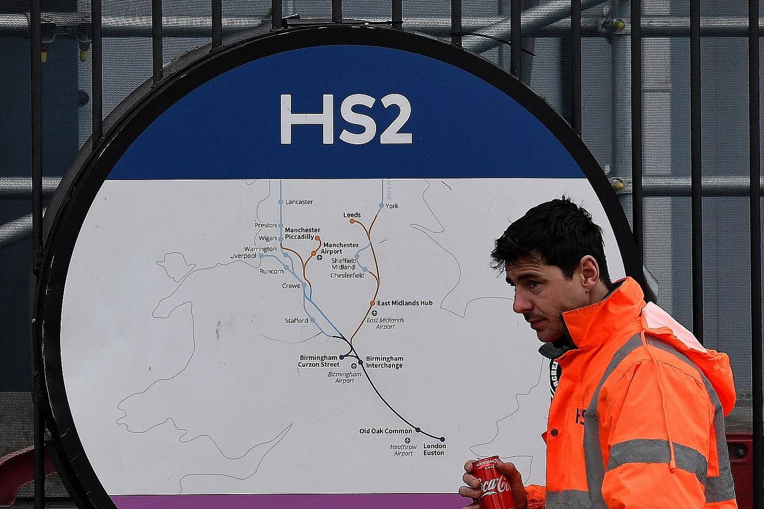 SenSat, a London-based geospatial data company, is modelling the route of the proposed HS2 railway line running from London to the north-west of Britain, creating some 18 billion data points. That should help builders monitor the project's progress t