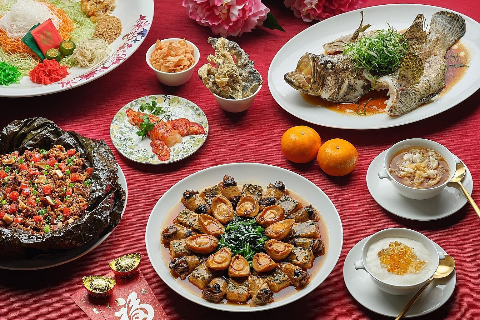 Between Jan 28 and 30, and again between Feb 1 and 5, you can enjoy a Chinese New Year feast at Capitol Theatre. The menu is designed by the culinary team of Capitol Kempinski Hotel Singapore.
