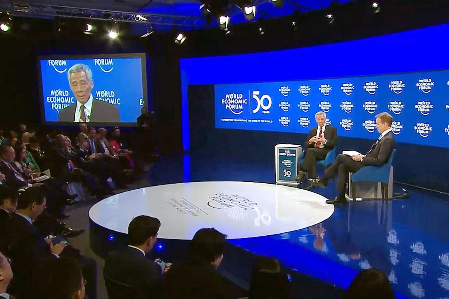 Prime Minister Lee Hsien Loong, during a conversation with World Economic Forum president Borge Brende in Davos last Wednesday, pointed to how a lack of mutual trust could lead to countries deciding that they needed to develop their own technologies