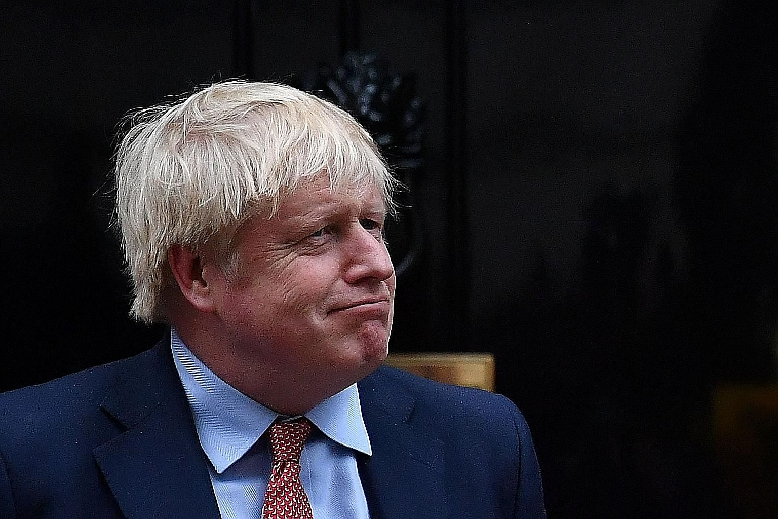 British Prime Minister Boris Johnson is poised to allow Huawei to develop 5G in Britain, despite US calls to ban the Chinese firm. PHOTO: AGENCE FRANCE-PRESSE