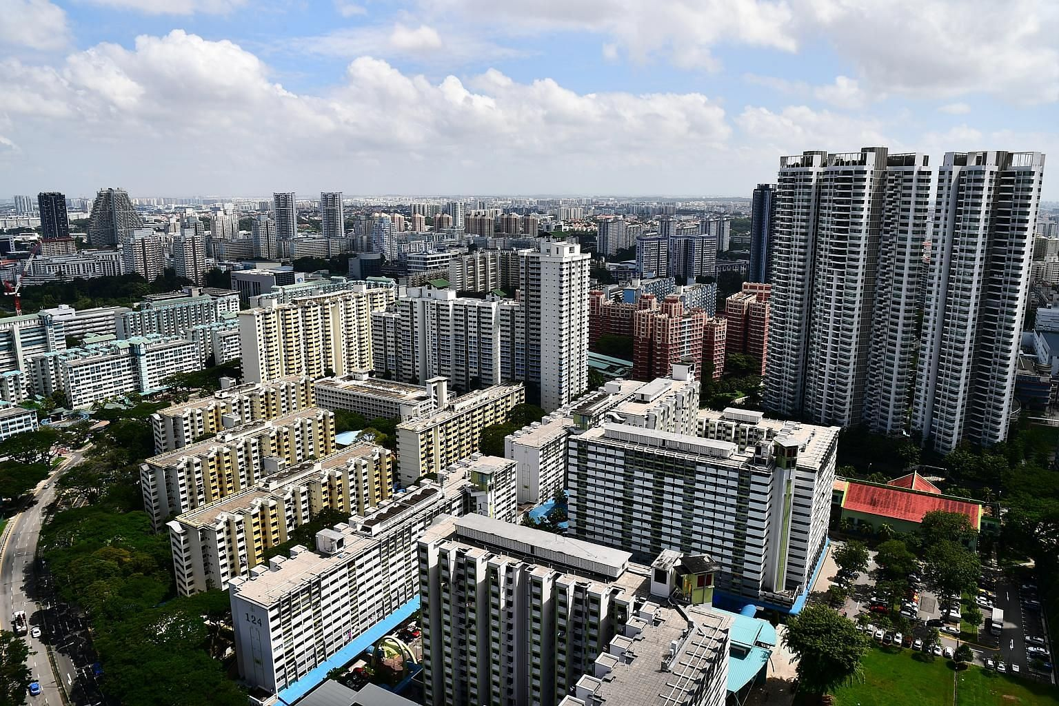 Around 5,902 flats will be eligible to join the HDB resale market in the next three months when they reach their five-year minimum occupation. The most expensive unit sold in January for $1.025 million was a Toa Payoh executive apartment. ST PHOTO: L