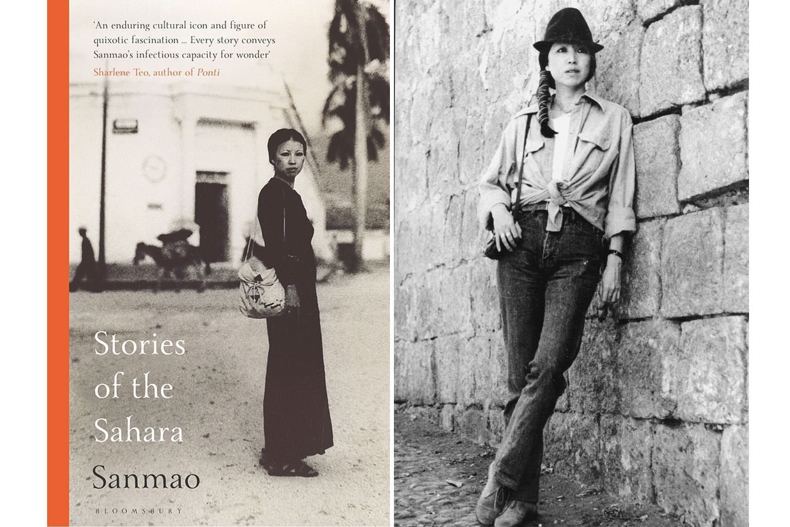 Stories Of The Sahara (top) by San Mao (right), which has been translated into English by New York-based Mike Fu (above), offers a look at the beauty and desolation of the desert.