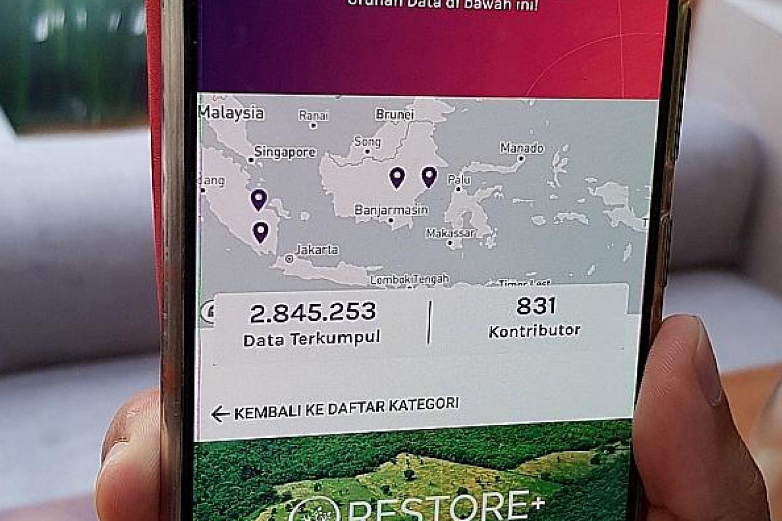 Crowdsourcing app Urundata has gained more than 800 users since it was launched in November last year.