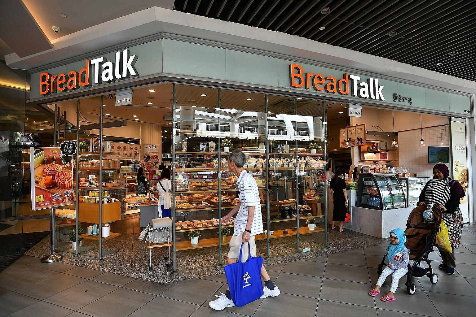BreadTalk Group chairman and founder George Quek has recently taken on major roles in the business after a series of resignations at the top rungs of BreadTalk, including overseeing the group's accounting, financial, treasury and tax matters with the
