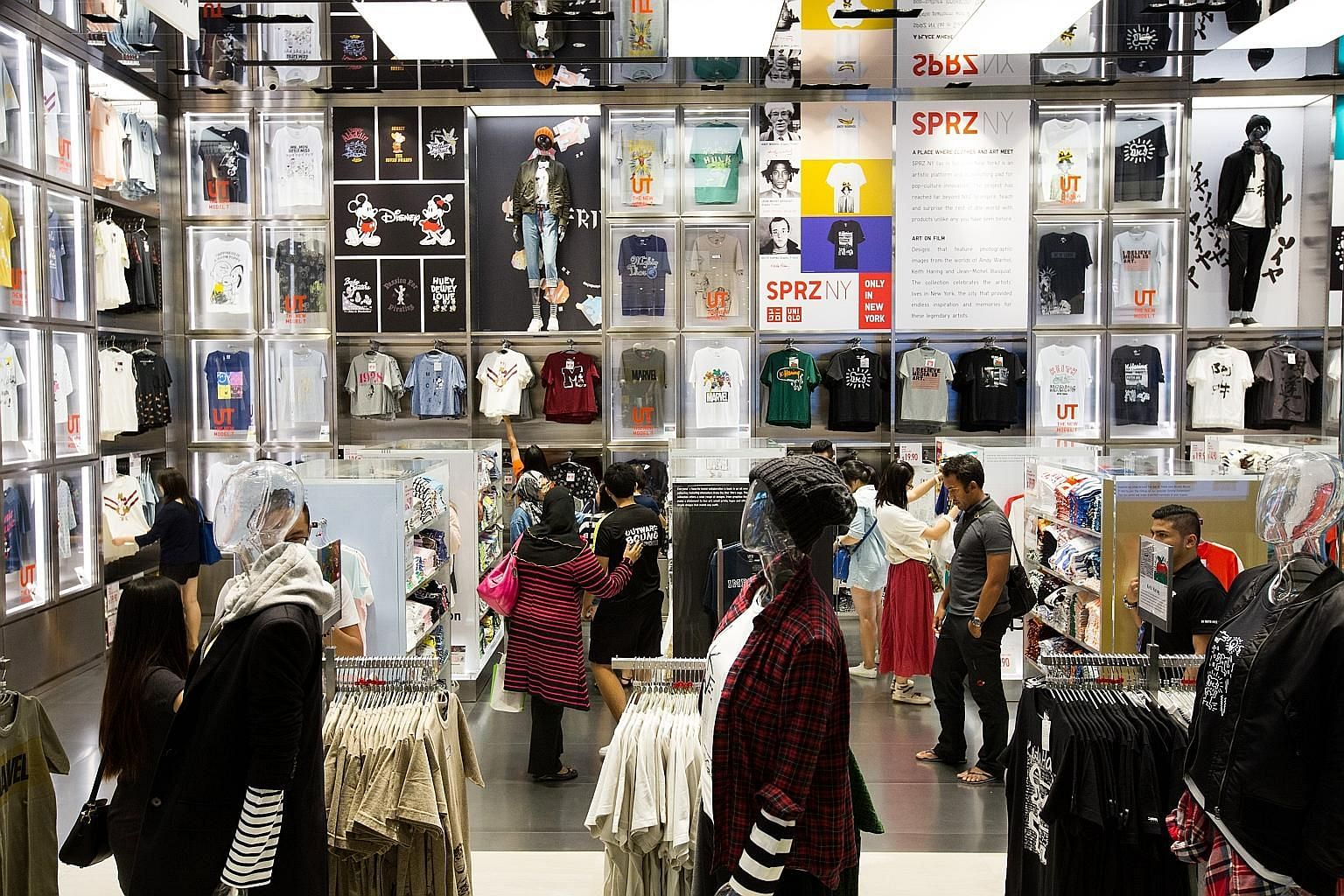 Wing Tai Retail manages the South-east Asian presence of global brands such as Uniqlo (above), Adidas and Topshop. Since late last year, Wing Tai has been reviewing business operations in close consultation with the Singapore Industrial and Services