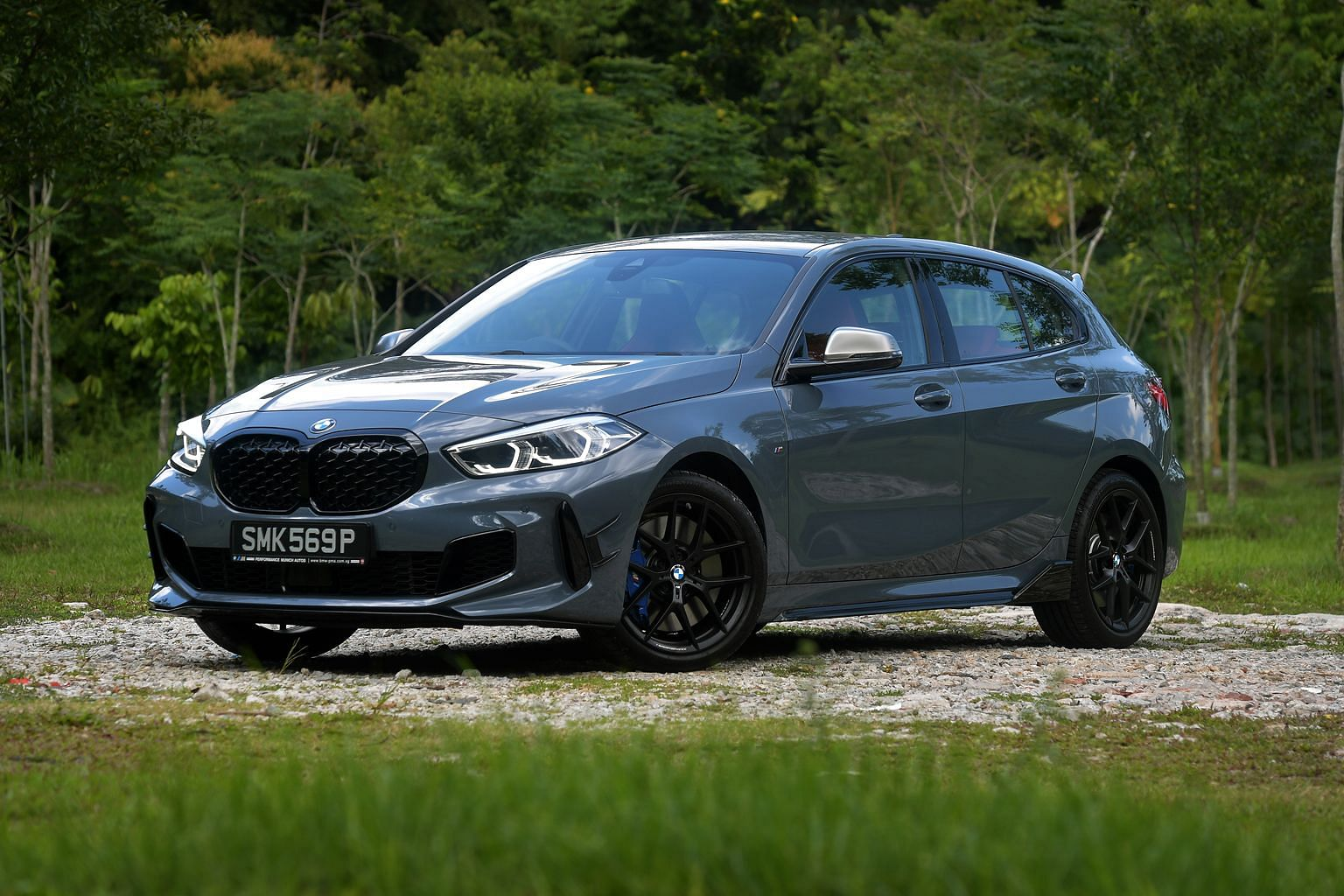 The BMW M135i is easy to handle, with good visibility, a compact tidy footprint and breezy access to its power reserve.