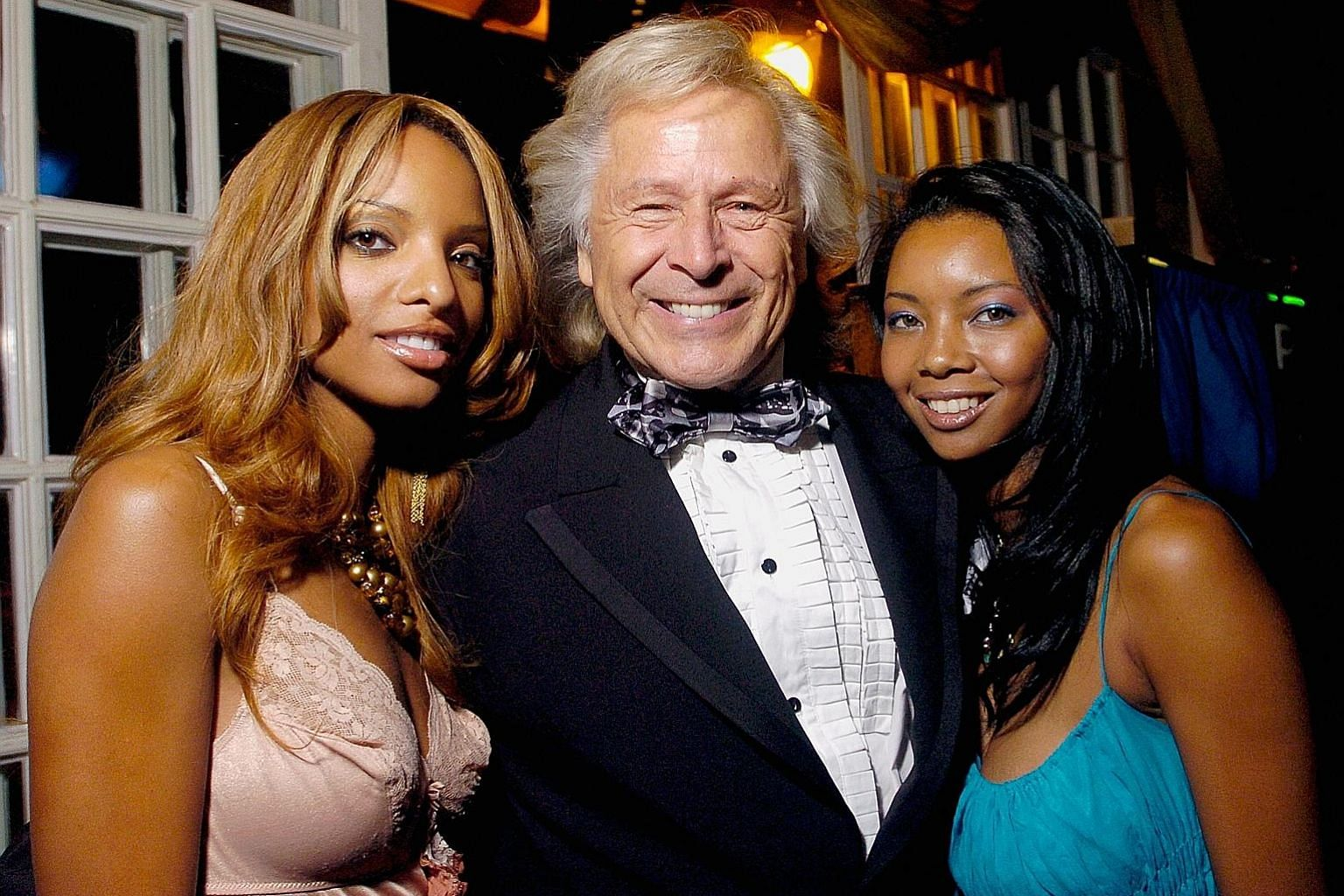 The entrance gate of Mr Nygard's extravagant Nygard Cay property in Nassau, Bahamas. Dozens of women and former employees said that alleged rape victims were lured to his Bahamian home by the prospect of modelling jobs or a taste of luxury. Lawyers a