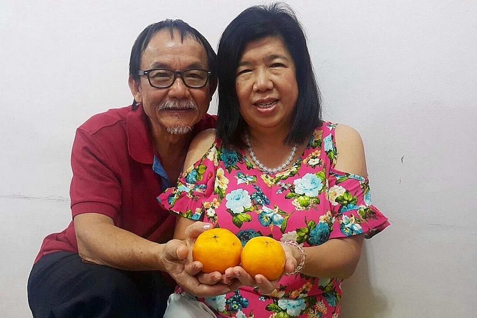 Ms Susanna Liew and her husband, pastor Raymond Koh, who was abducted by a group men on Feb 13, 2017. PHOTO: RAYMOND KOH'S FAMILY