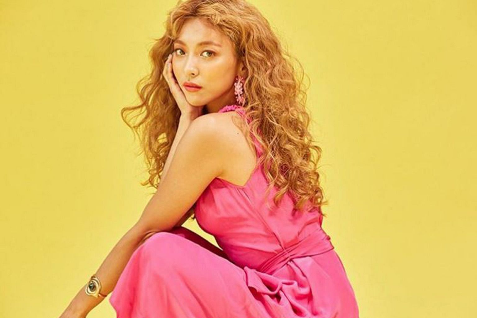 K-pop idol Luna (above) revealed that she suffers from depression and panic disorder.