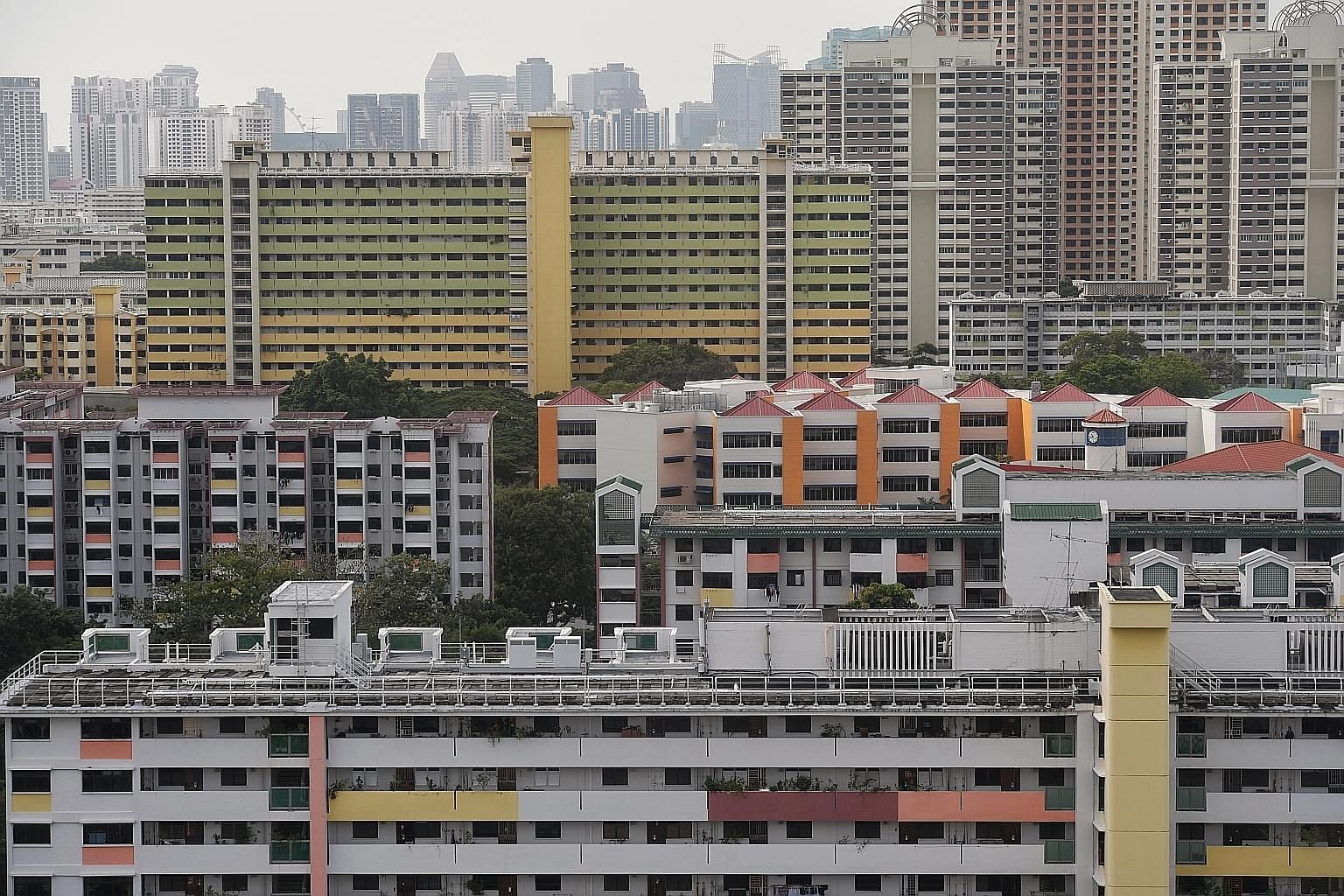 Flash estimates from real estate portal SRX showed that 1,668 HDB resale flats were sold last month, 13.1 per cent fewer than in January. The figure reversed the 3.3 per cent increase in January from the preceding month.