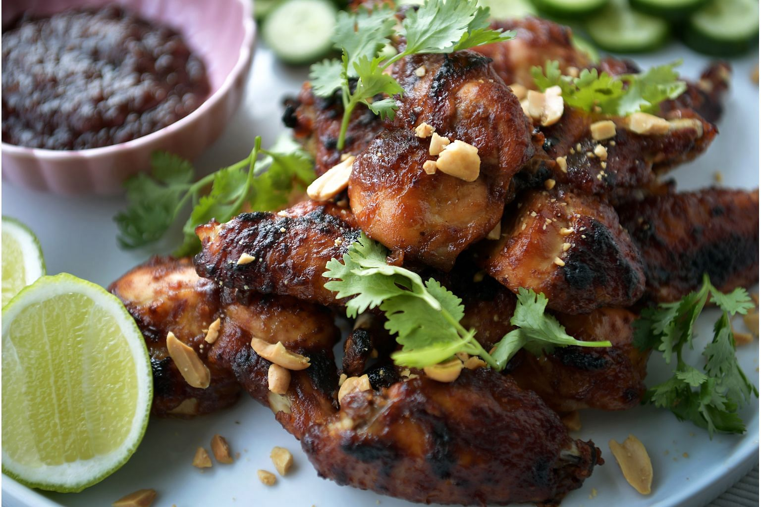 The writer's recipe for tamarind wings is inspired by a starter she had at Emma's Torch, a social enterprise, in Brooklyn.