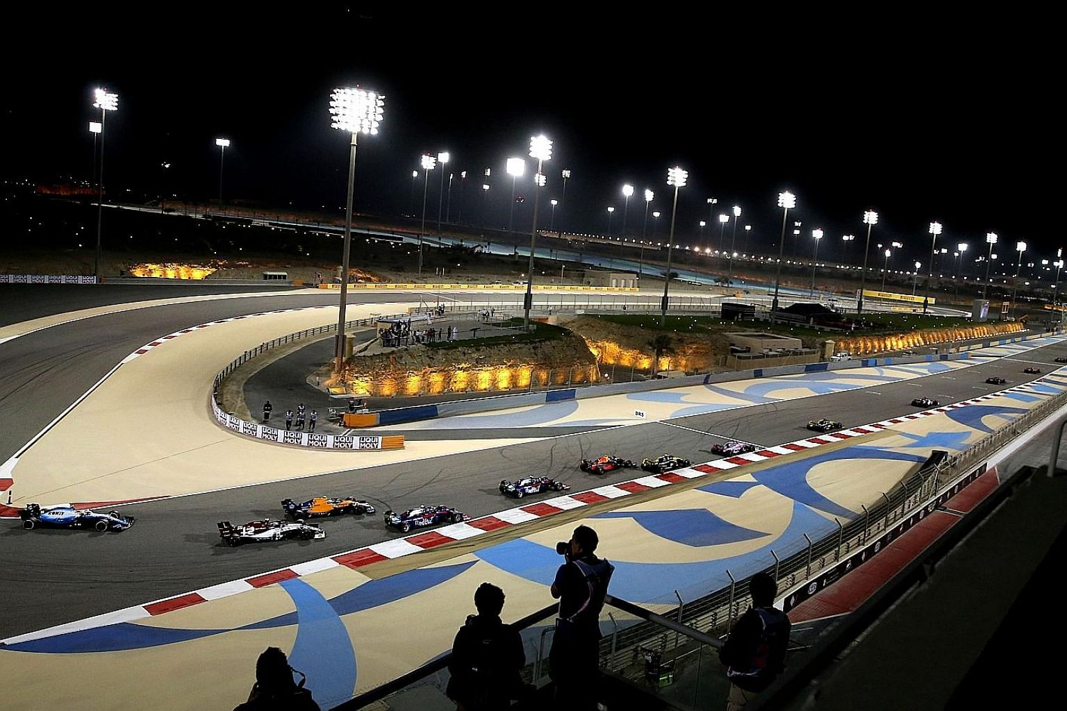 The Bahrain Formula One Grand Prix, held from March 20 to 22 in its capital Manama, is the country's biggest sporting event, drawing a record crowd of 97,000 over three days last year. The Chinese Grand Prix in Shanghai initially scheduled for April
