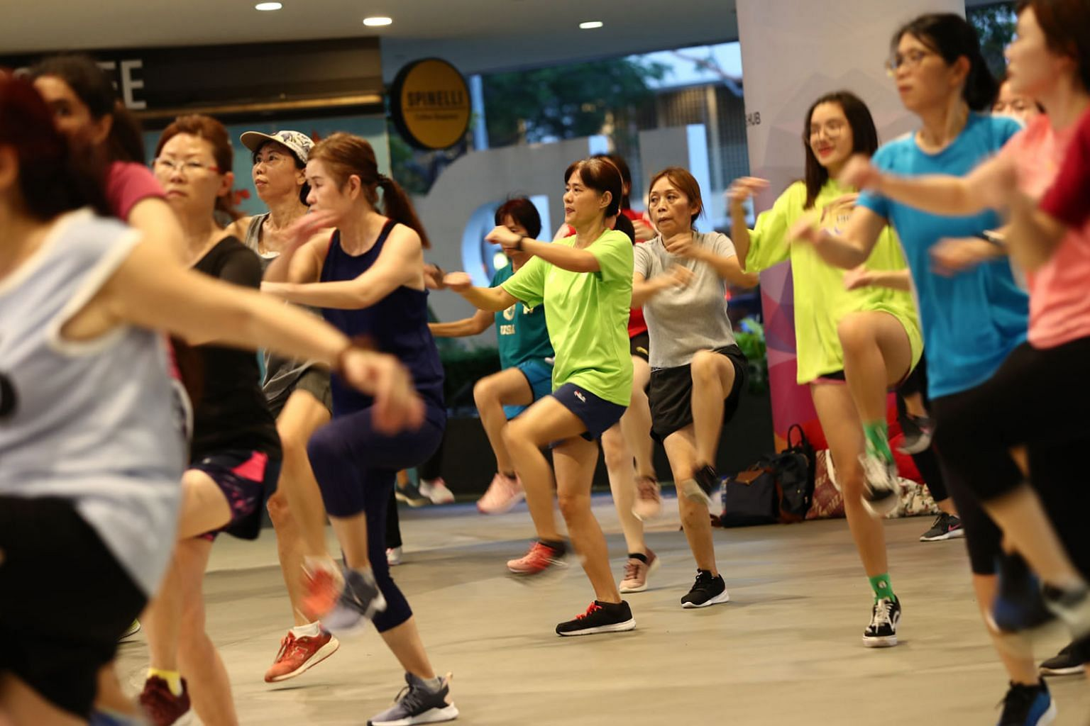 """Infectious diseases expert Leong Hoe Nam says: """"Sweat alone won't spread the disease, but it could if it mixes with gunk on a person's nose or if the person coughs and contaminates the sweat."""""""