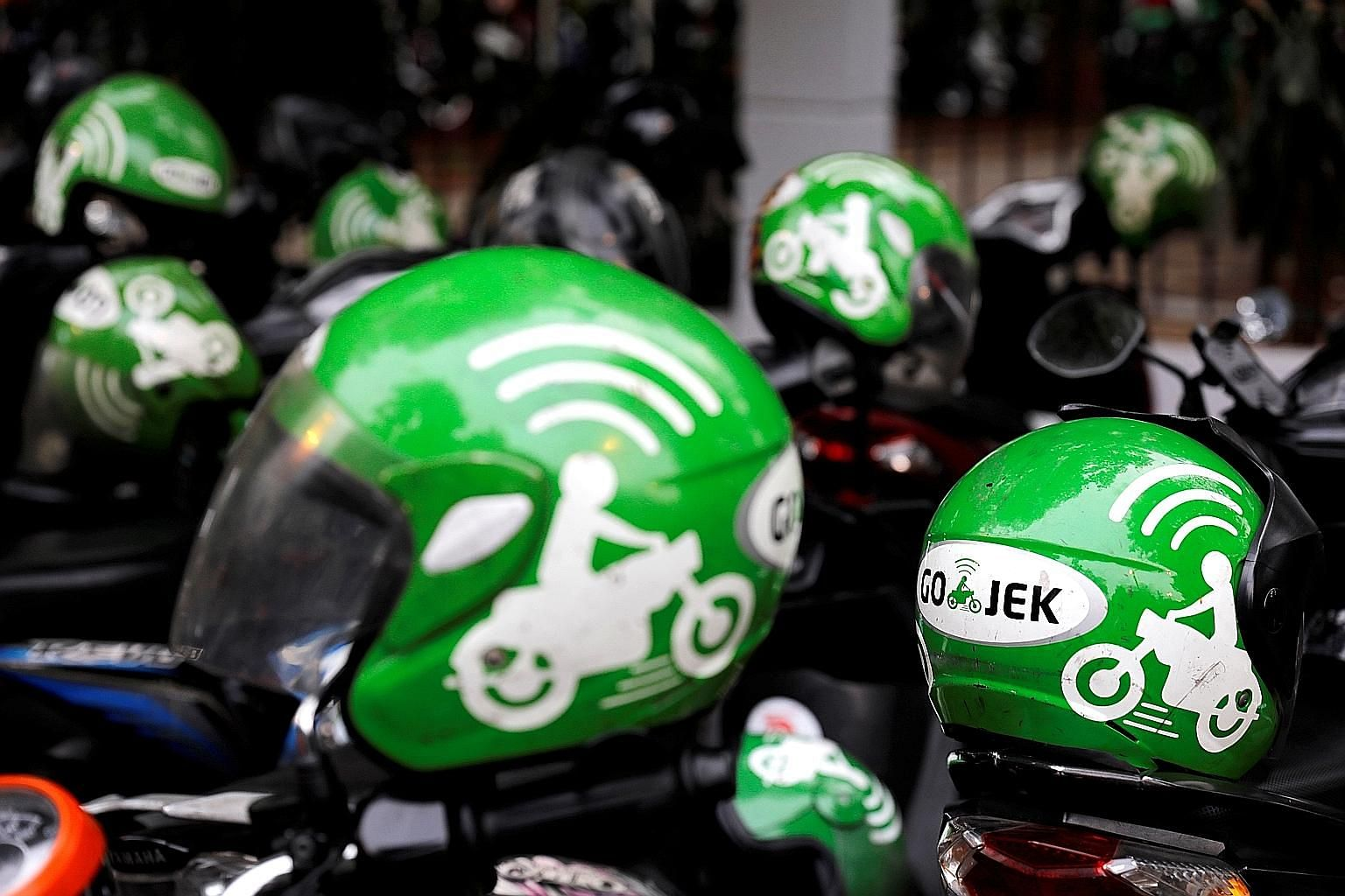 Gojek, which debuted an app for hailing motorbike taxis in Jakarta in 2015, now also offers a score of other on-demand services such as house cleaning and medicine delivery, and was last valued at US$10 billion (S$14.3 billion), according to CB Insig