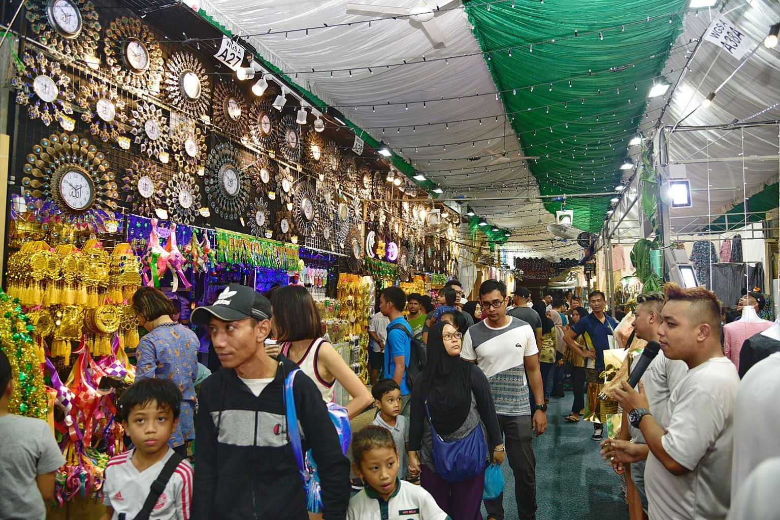 Last year's Hari Raya bazaar in Geylang Serai attracted about two million visitors, the highest number ever recorded for such a bazaar.