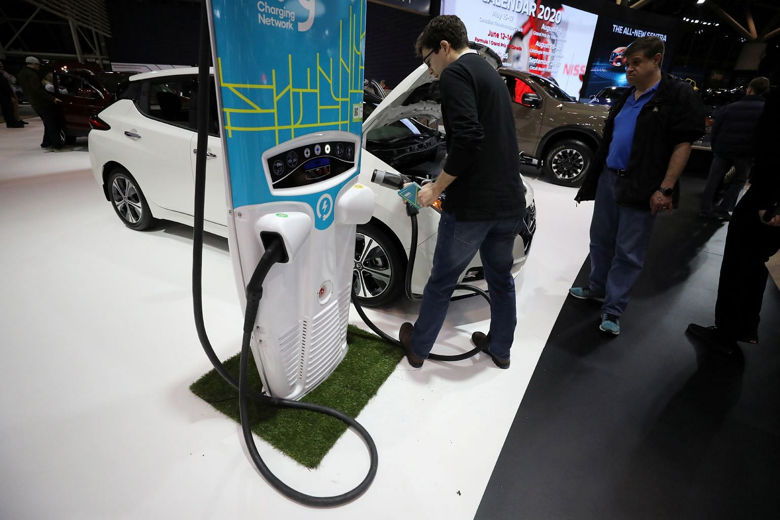 Electric cars like the Nissan Leaf (above) cost less to operate than conventional ones as electricity is far cheaper than petrol. These vehicles also cost less to maintain because they have fewer parts and less fluids.