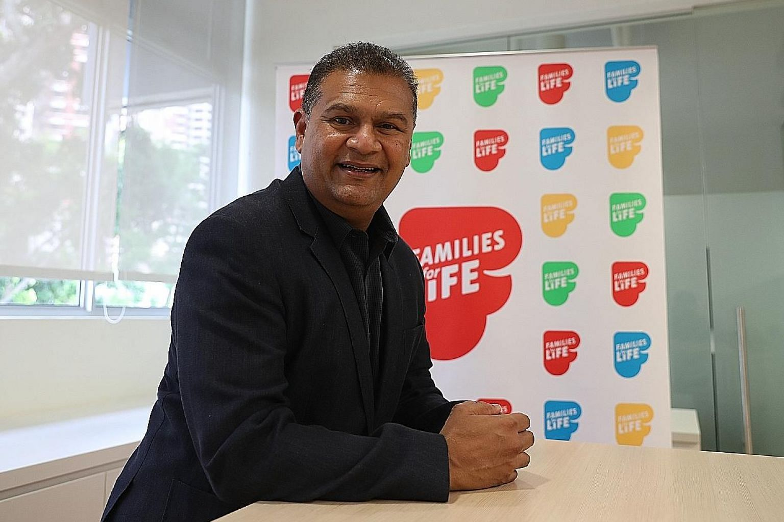 Families for Life Council chairman Ishak Ismail, 57, believes that fathers need to be more present in their children's lives. He shared that building a close relationship with his two daughters, aged 26 and 28, took time and effort, as well as creati