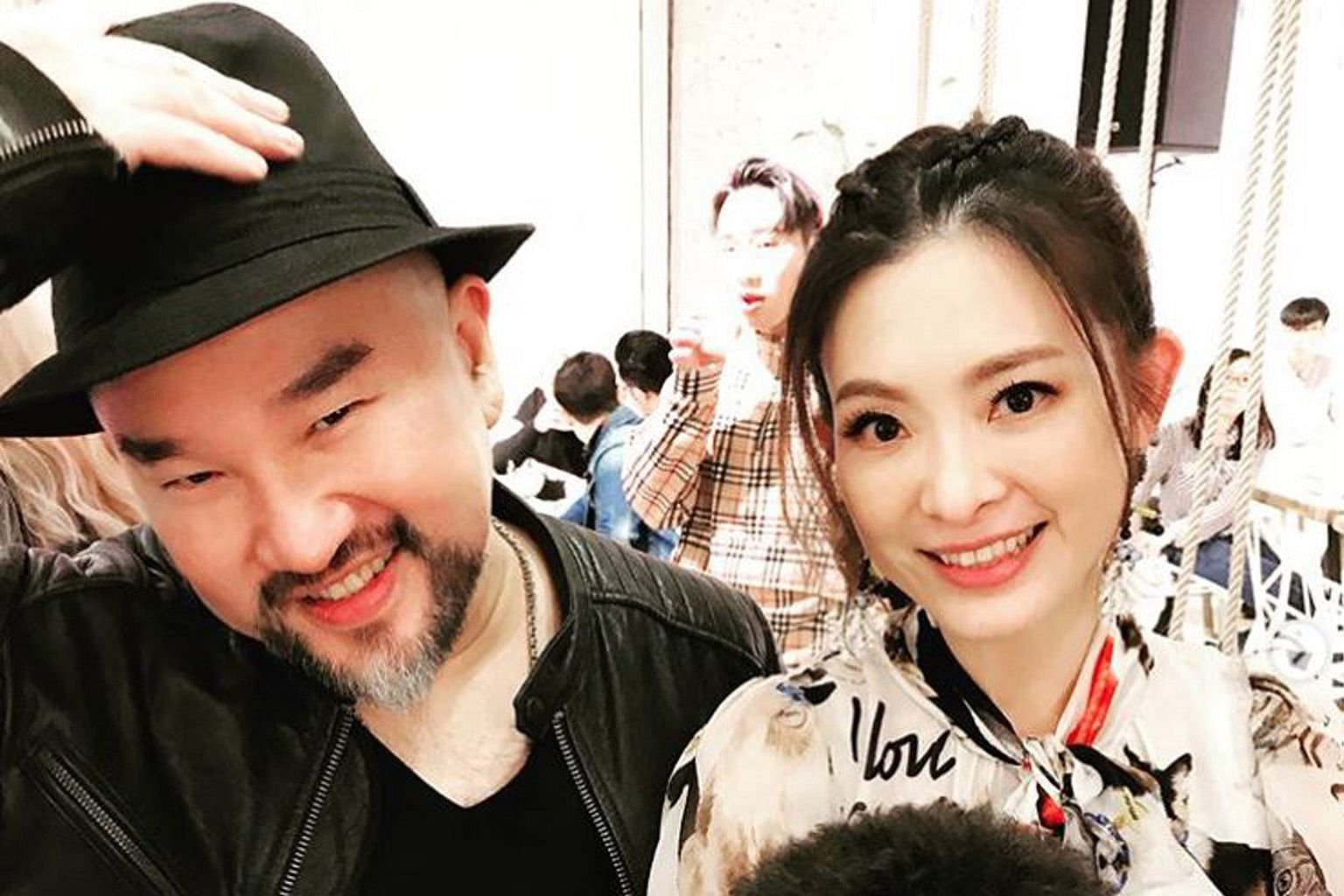 Serena Liu Chen (seen here with her husband Shin Lung) was taken off life support.