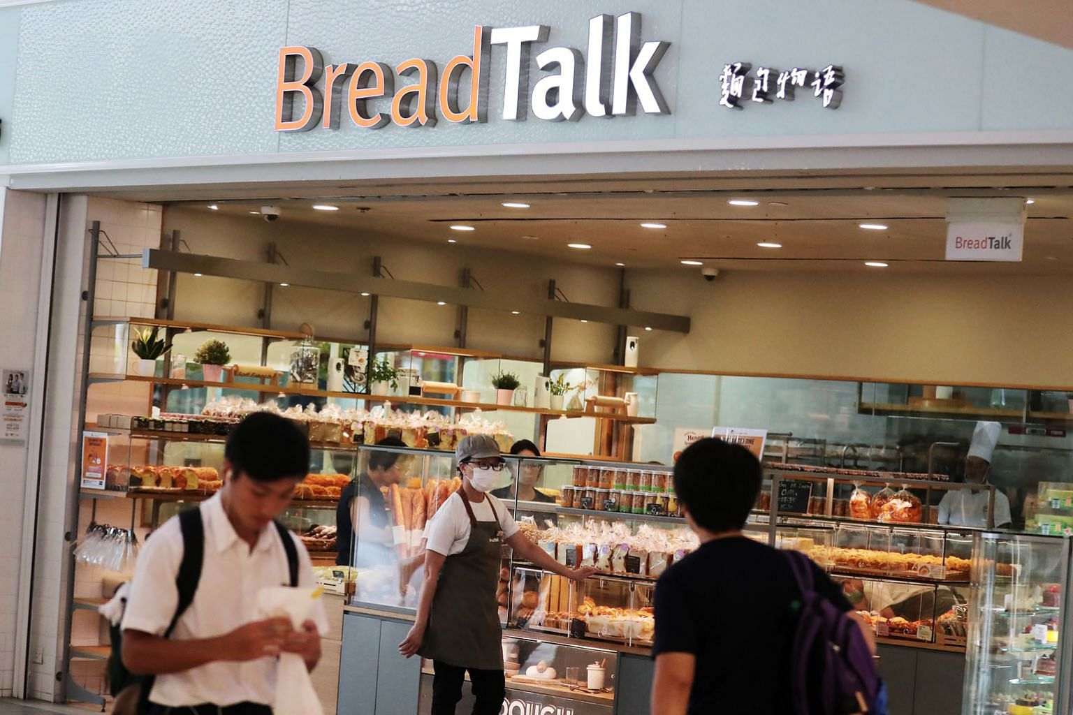 DBS analysts singled out bakery chain BreadTalk and seafood restaurant group Jumbo, owing to their high exposure to China.