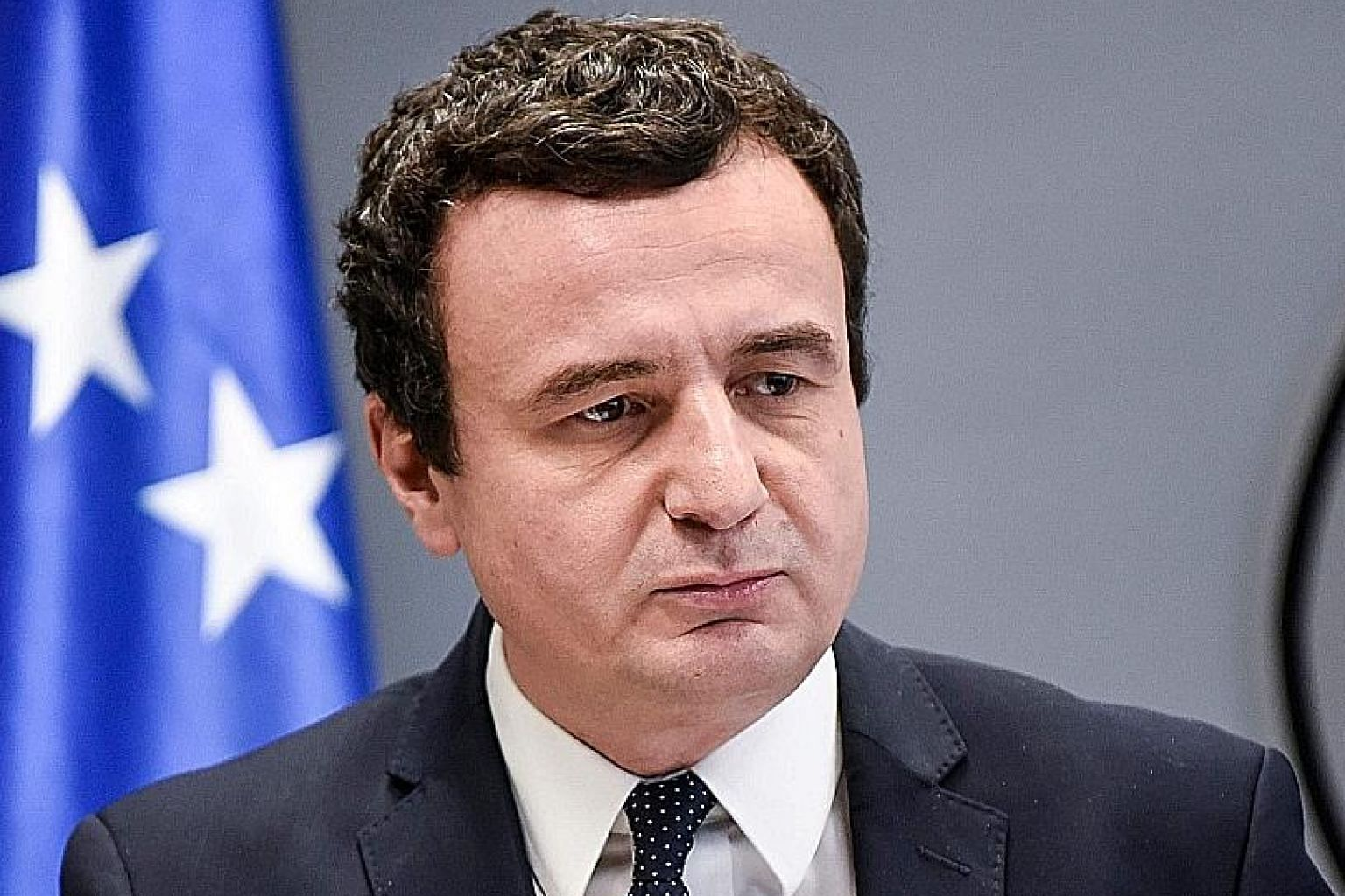 Mr Albin Kurti will remain as Kosovo's caretaker Prime Minister until a new government is formed.