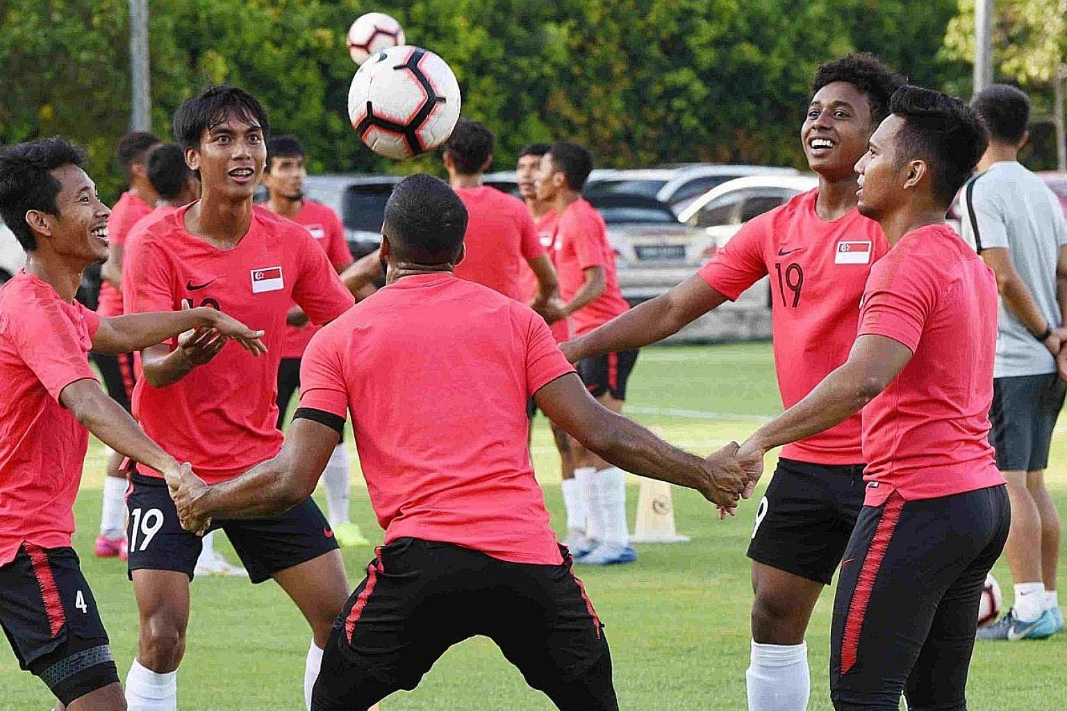 National football coach Tatsuma Yoshida said Singapore will overcome the coronavirus crisis if it stays united like his Lions, whose World Cup qualifier against Palestine yesterday was cancelled because of the pandemic. PHOTO: FACEBOOK/FAS