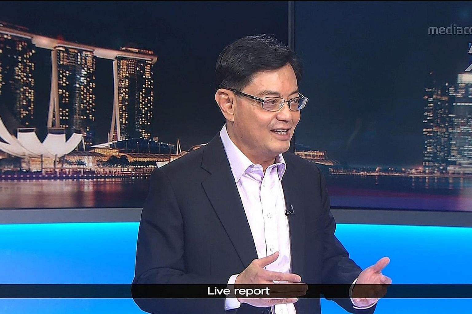 Deputy Prime Minister Heng Swee Keat said the stricter the measures governments take to fight the pandemic, the deeper the economic impact will be, and self-employed workers are a key group needing help.