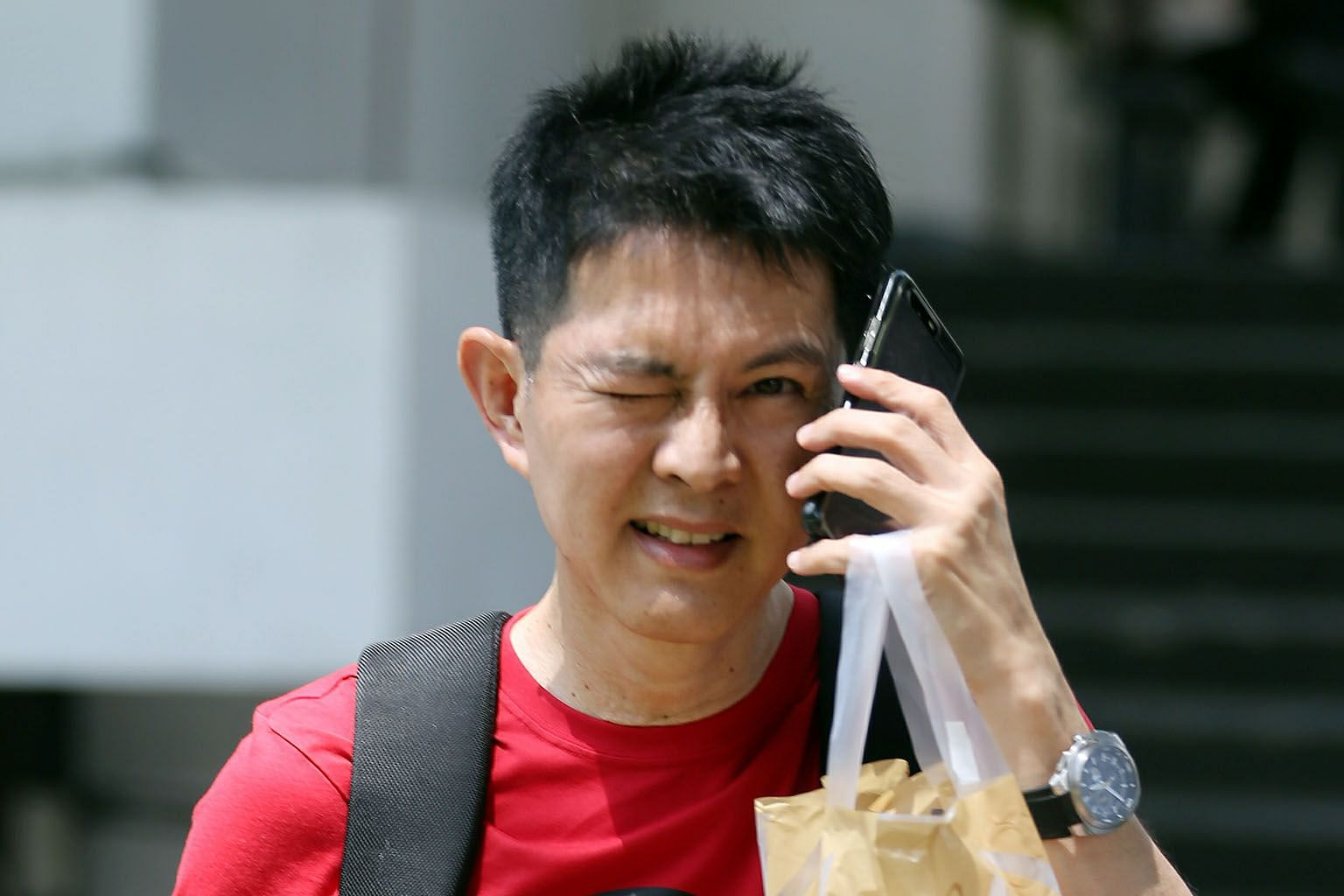 Former lecturer Chan Cheng was arrested on Nov 27, 1999, and was due to be charged two days later, but absconded to Malaysia. He was arrested by the Malaysian authorities and extradited to Singapore on Dec 7, 2016.