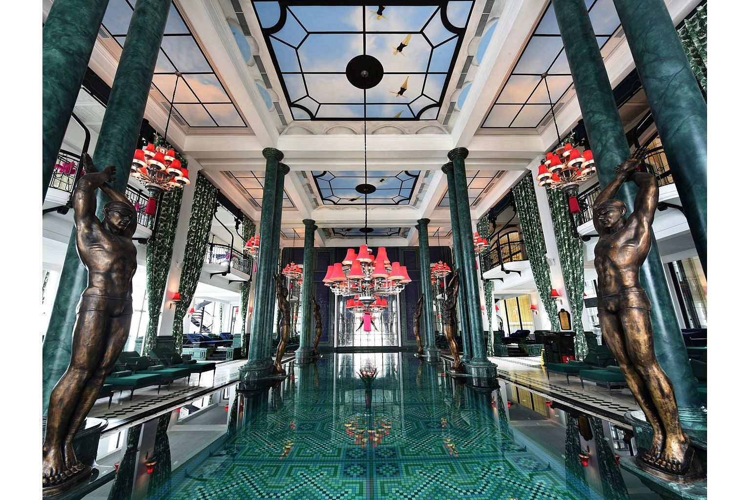 """Vietnam's Hotel de la Coupole was described as a """"showstopper"""" by Ahead Asia judges for its Indochine style married with French haute couture."""