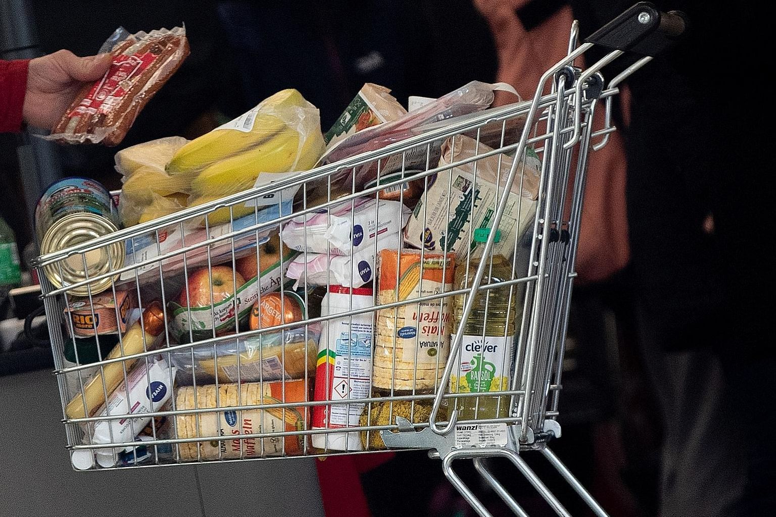 There is no need to buy too much food because delivery services or friends and relatives can bring food items to your doorstep.
